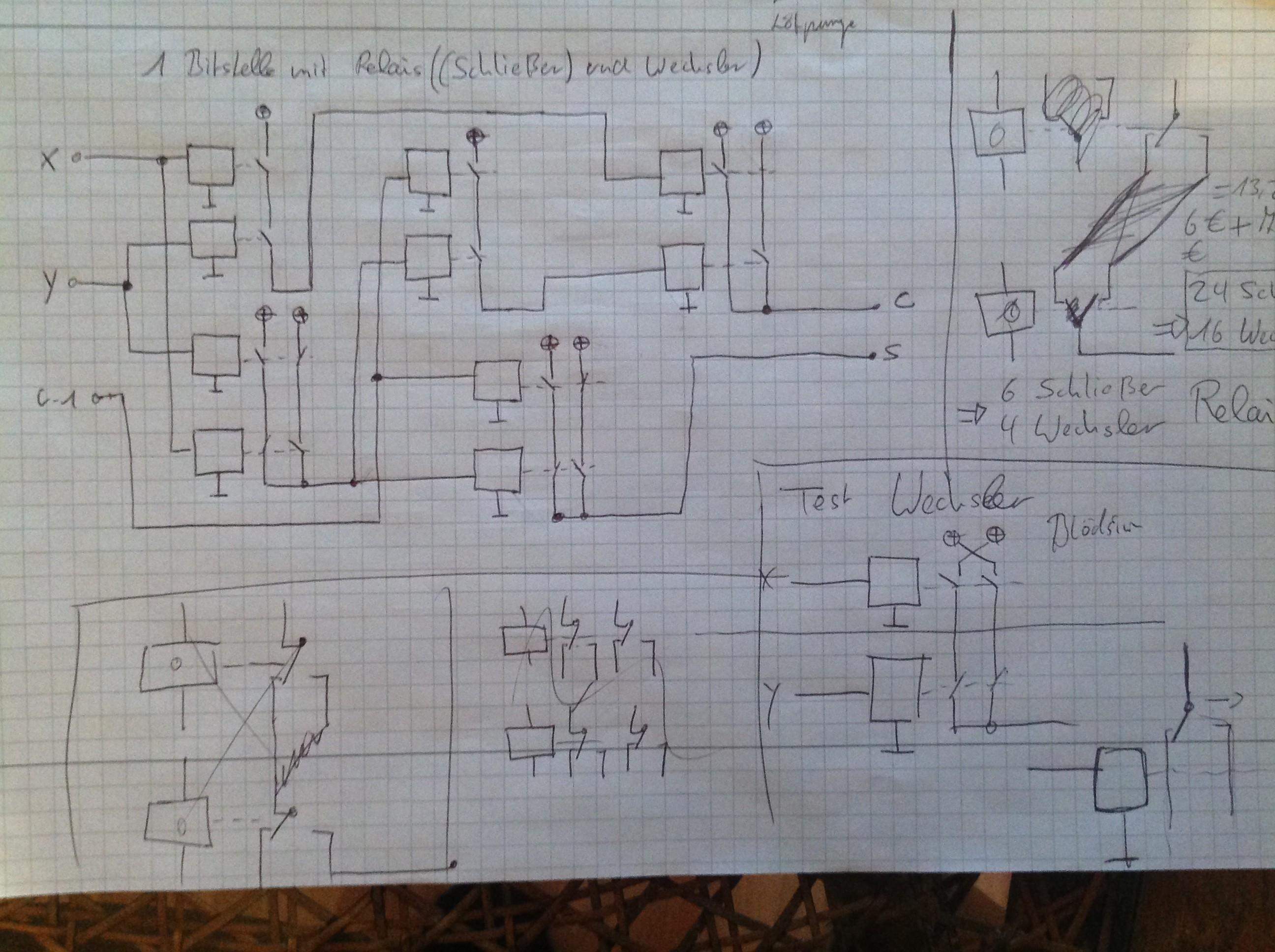 Bit Relay Adder  Hackadayio - Electromechanical relay logic