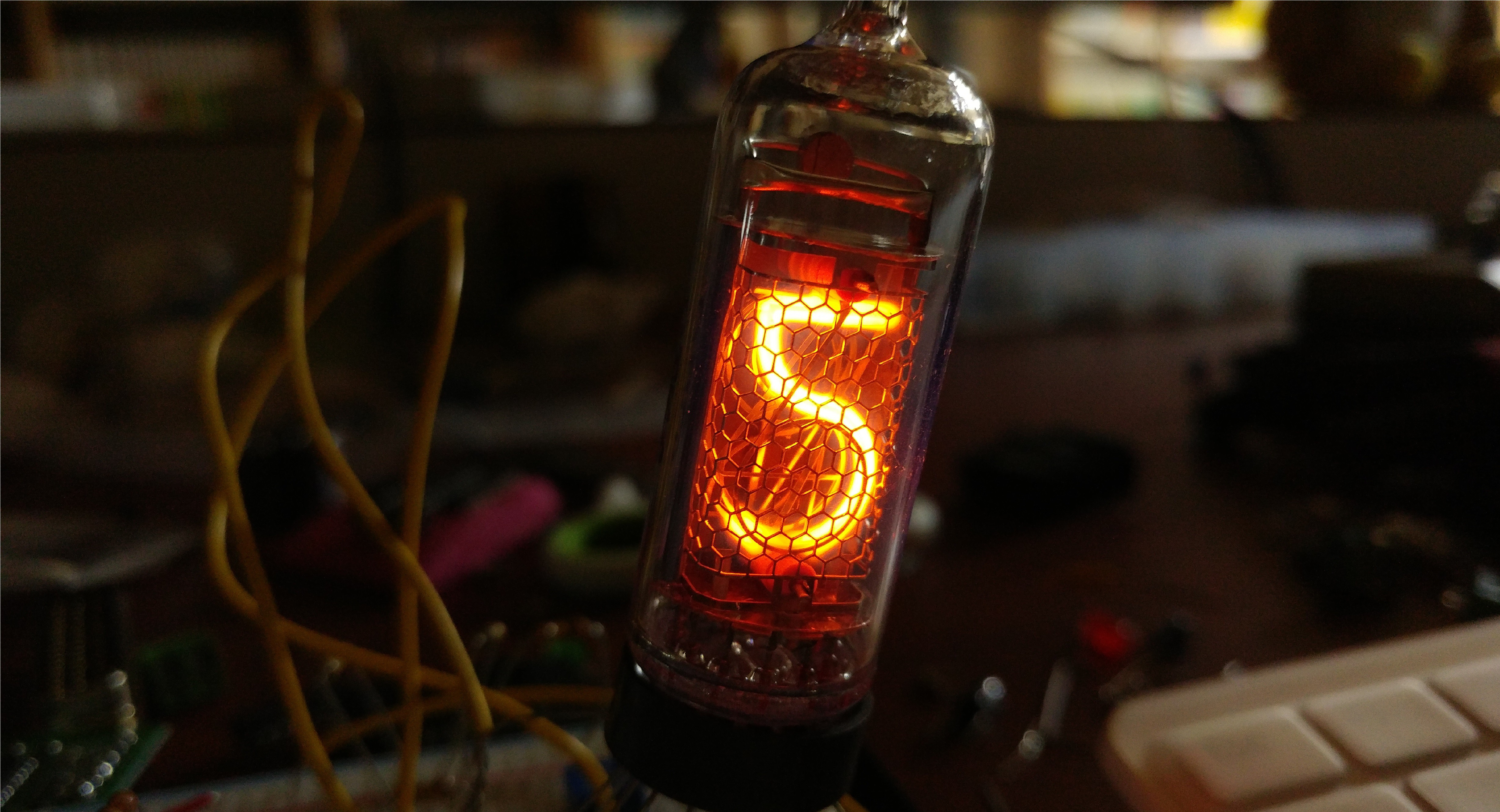 Nixie Tube Is A Cold Cathode Display Special Kind Of Neon Lamp That Can Numbers From 0 To 9or Alphabetic Or Characters