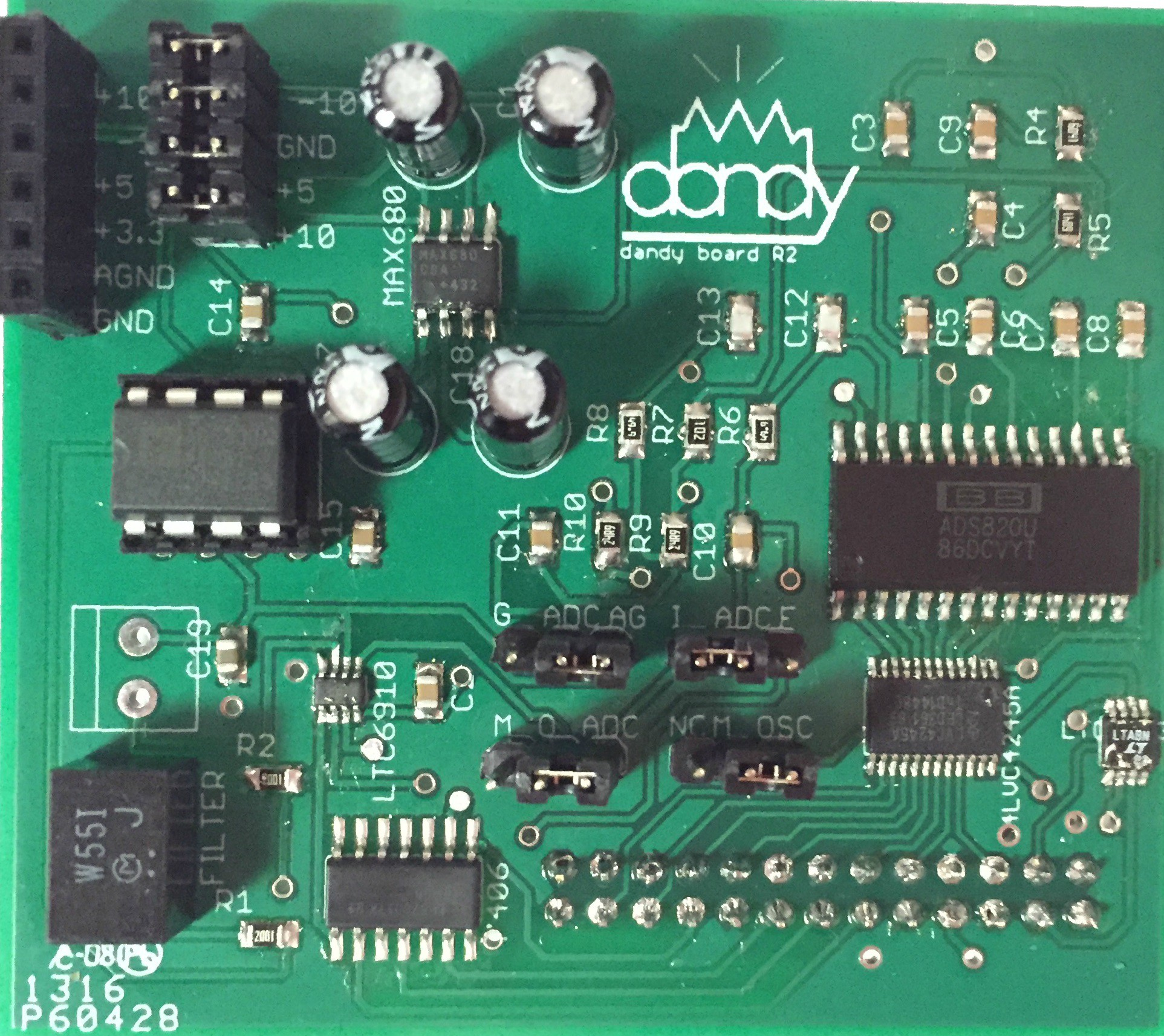 Affordable Spectrum Analzyer Audio Analyzer Circuit Electronics Projects Circuits Below Is A Picture Of The Board Once Assembled