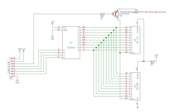 Driver board schematic
