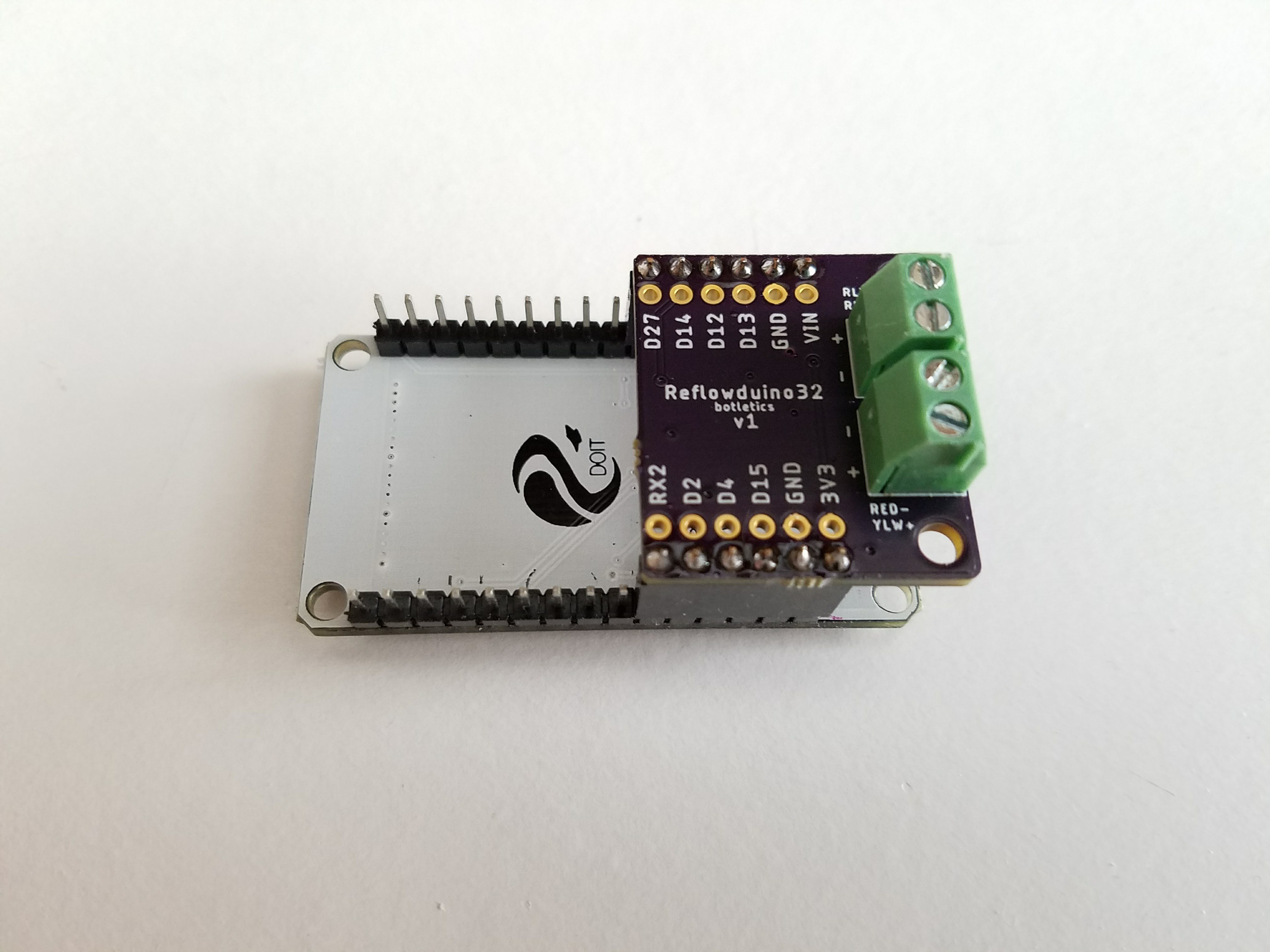 Reflowduino Wireless Reflow Controller Ecosystem Details Doityourself Diy Customized Circuit Board Pcb Making Do It Development To Give Convenient Thermocouple And Relay Interface For Easy Control While Still Communicating Over Bluetooth Low Energy