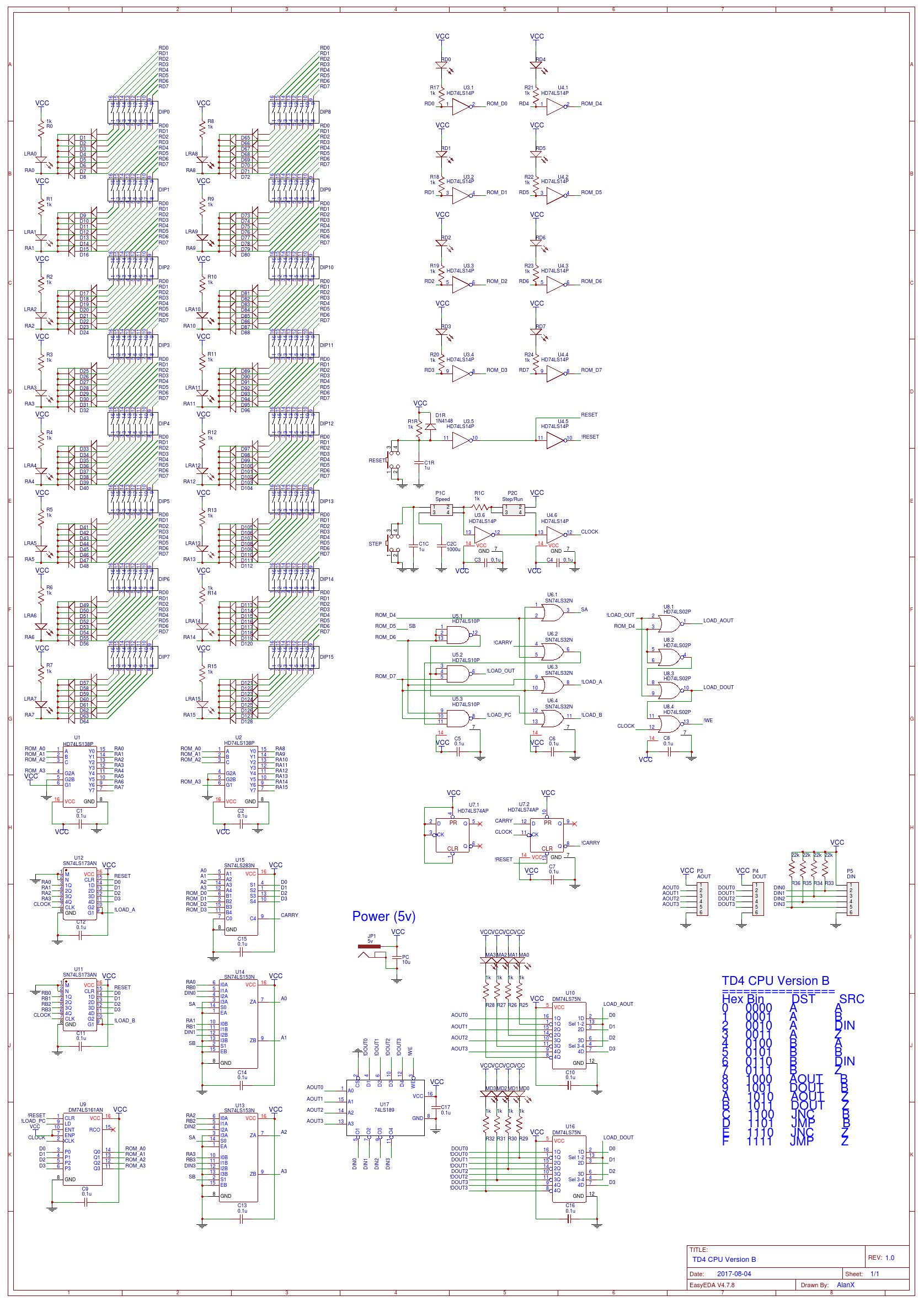 And the PCB: