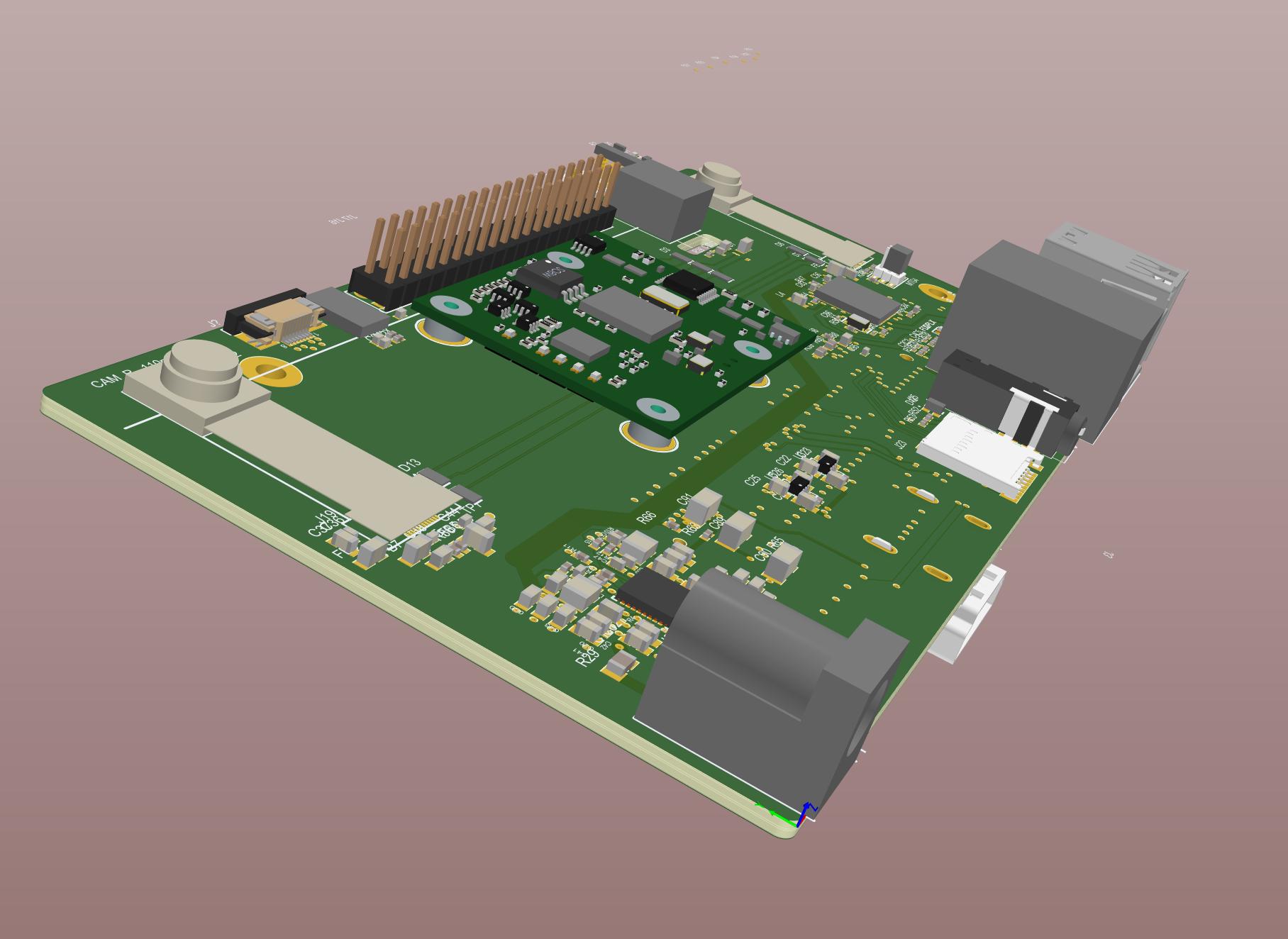 DepthAI for Raspberry Pi Layout In Progess | Details | Hackaday io