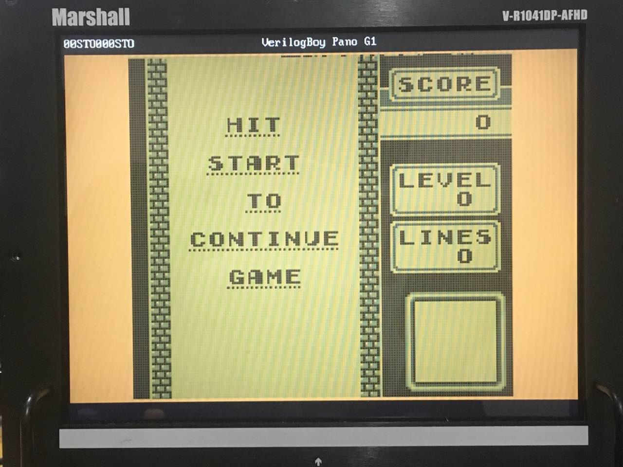 VerilogBoy - GameBoy on FPGA | Hackaday io