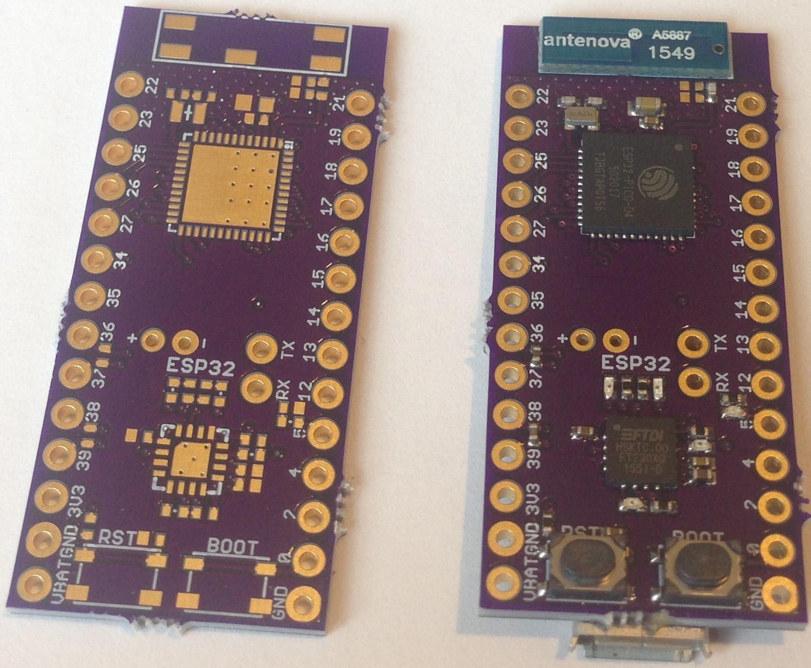 Project | Small ESP32 Module for Easier Custom Design
