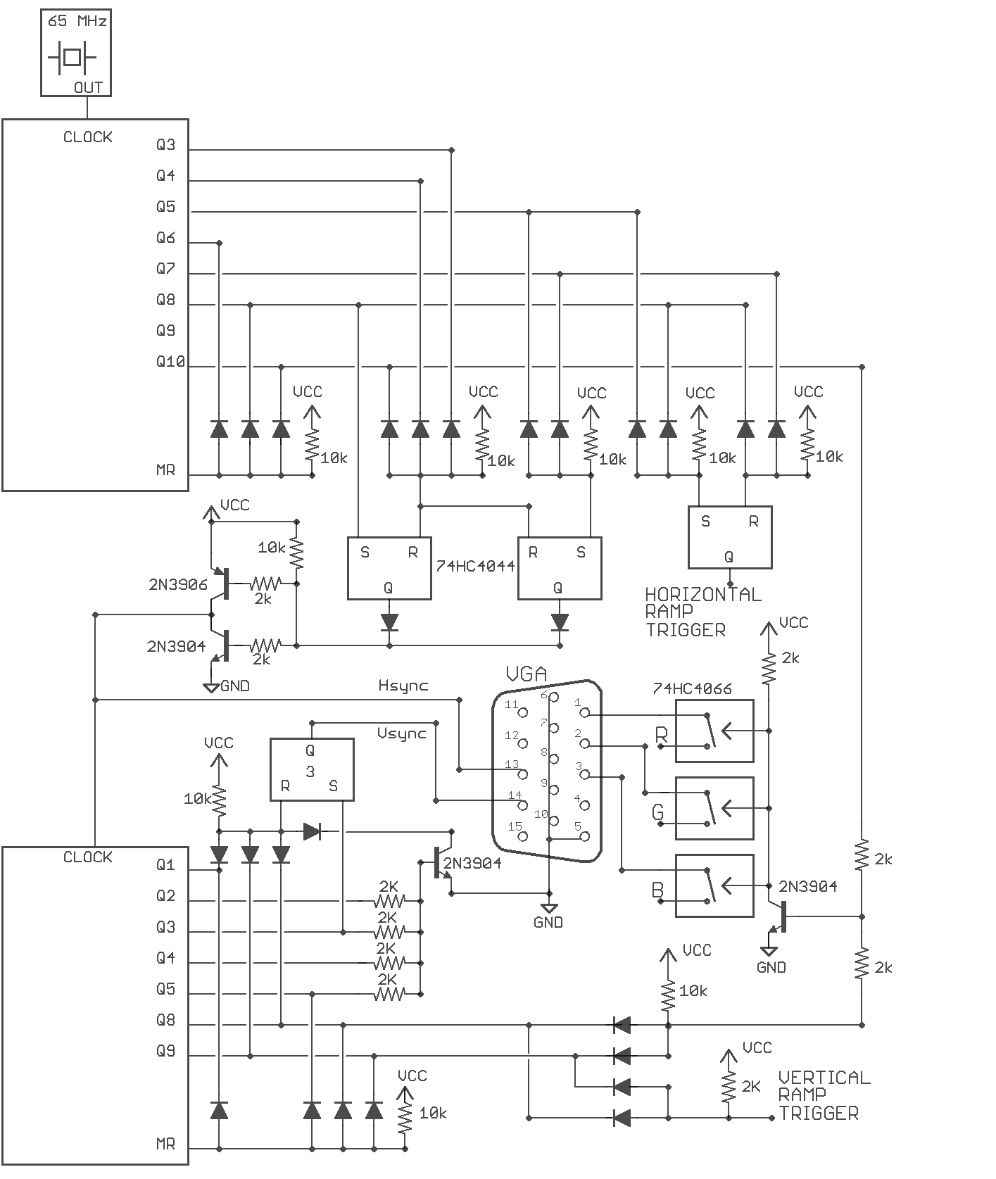 Project Rasterphonic Glove Frequency Generator Circuit Diagram On Zapper Schematic Vga Signal Version2 Diode Logic