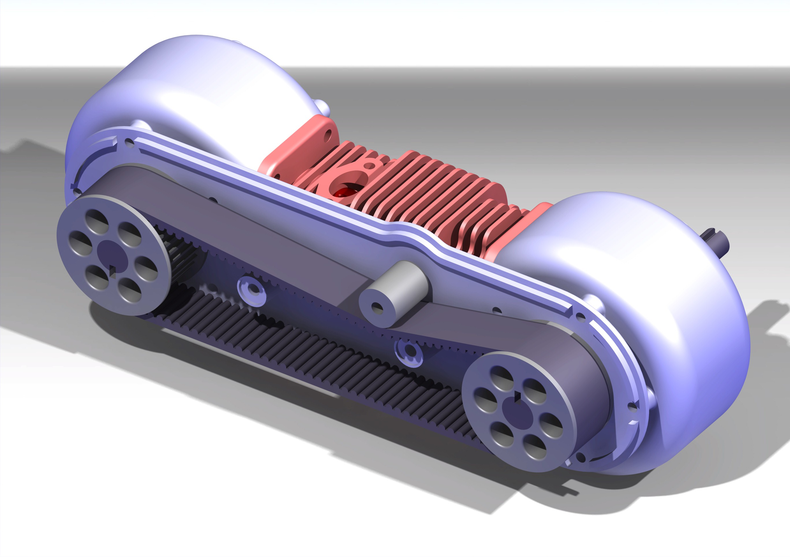 Open Source Two Stroke Diesel Engine