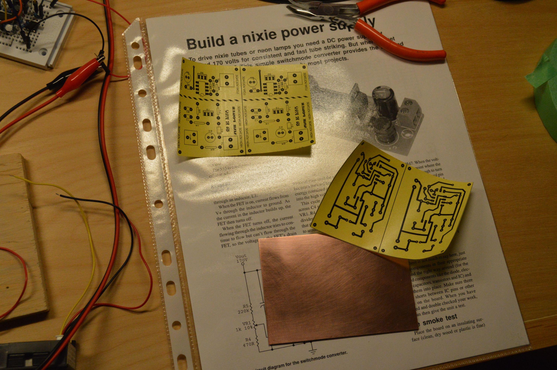 Making Pcbs The Toner Transfer Way Video Tutorial Diy Printed Circuit Board Pcb Thermal Method Tracks And A Top Layer Silk Screen