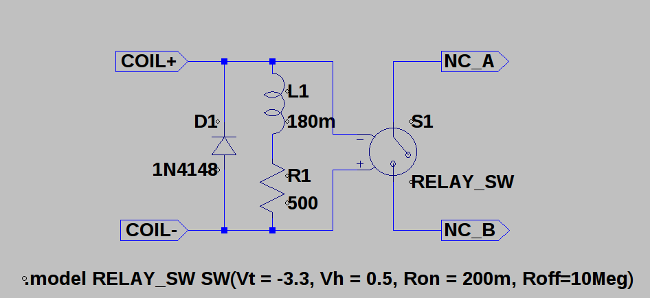 simulating relays details hackaday iomy relays aren\u0027t here yet, and i\u0027m bummed out about it, so i decided to simulate one so i could design some of the more analog parts of the clock,