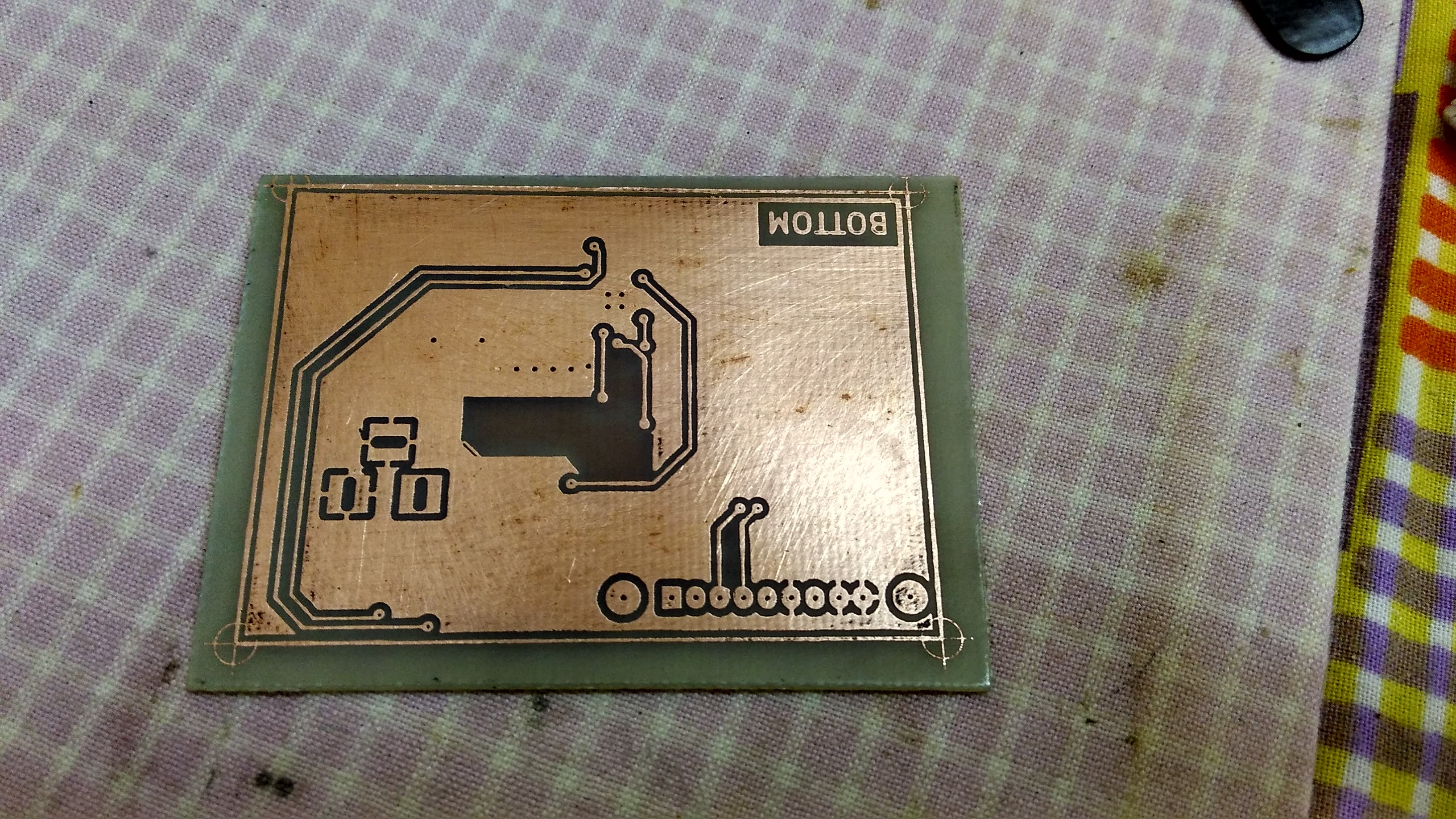 Smart Battery Smarter Power Pack His Usb Diy Liion Charger Circuit In The Project Log Forum Heres How Etched Boards Looked After A Bit Of Scrubbing