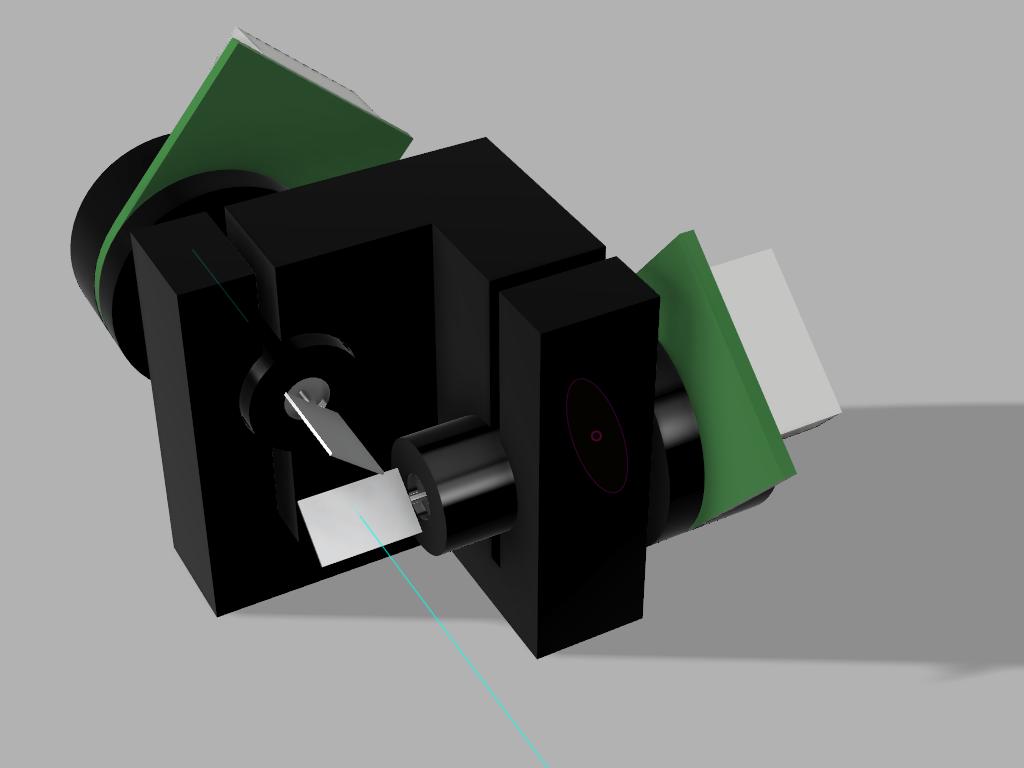 Laser Galvo Clock | Hackaday io