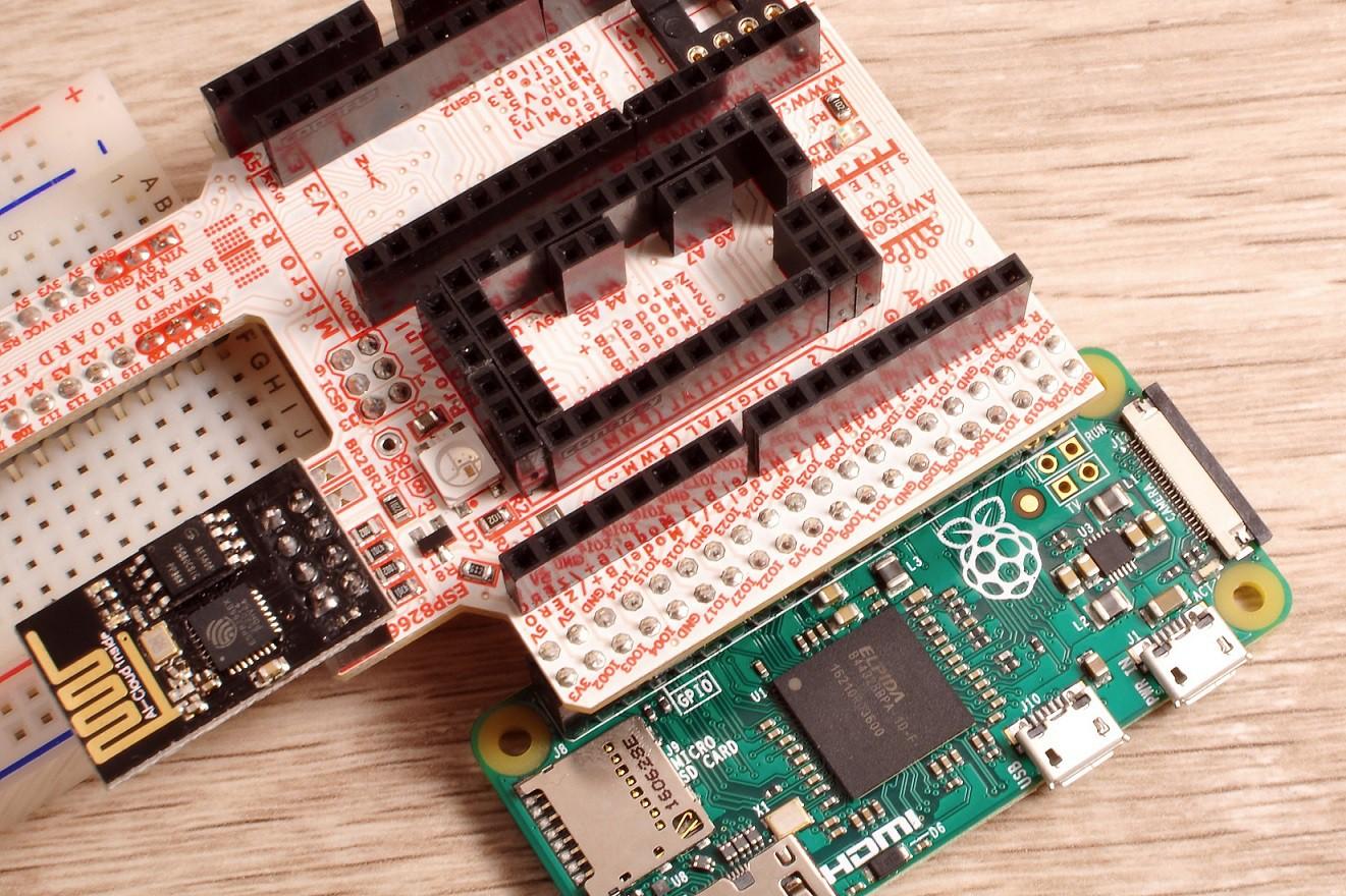 IoT_ArduPiShield_RaspberryPi_Arduino_AwesomePCB_RaspberryPi_connection