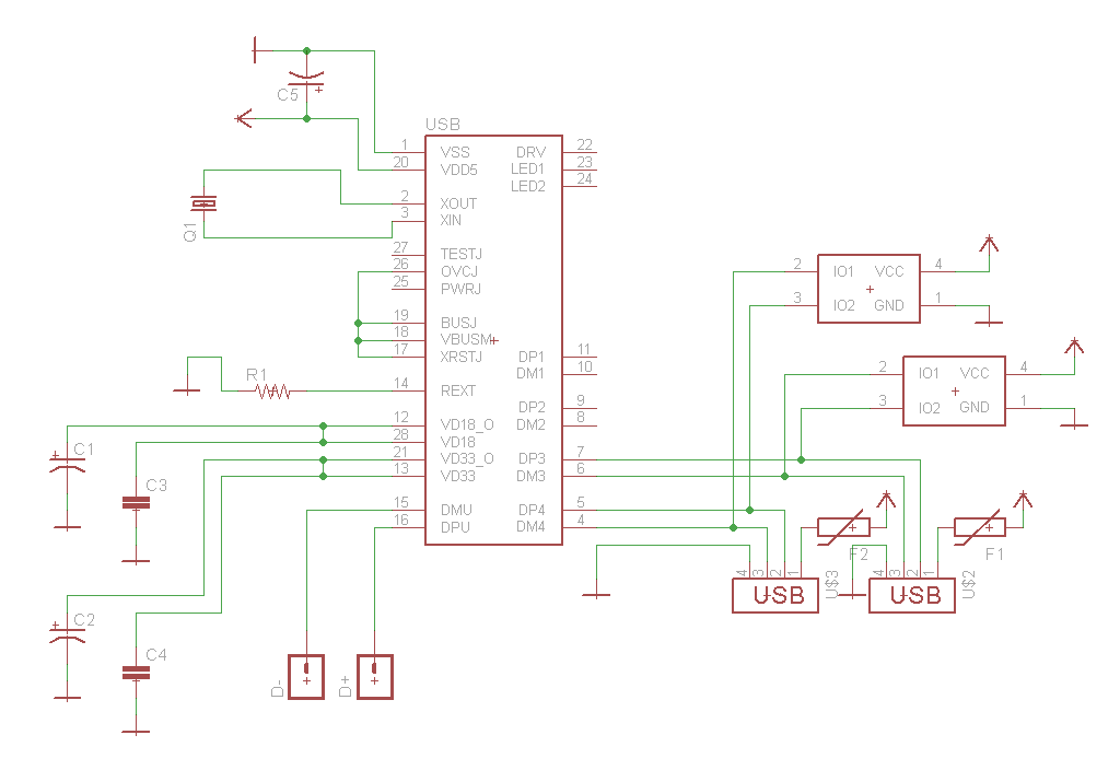 3323791452350835707 first design revision details hackaday io wiring diagram of usb hub at n-0.co