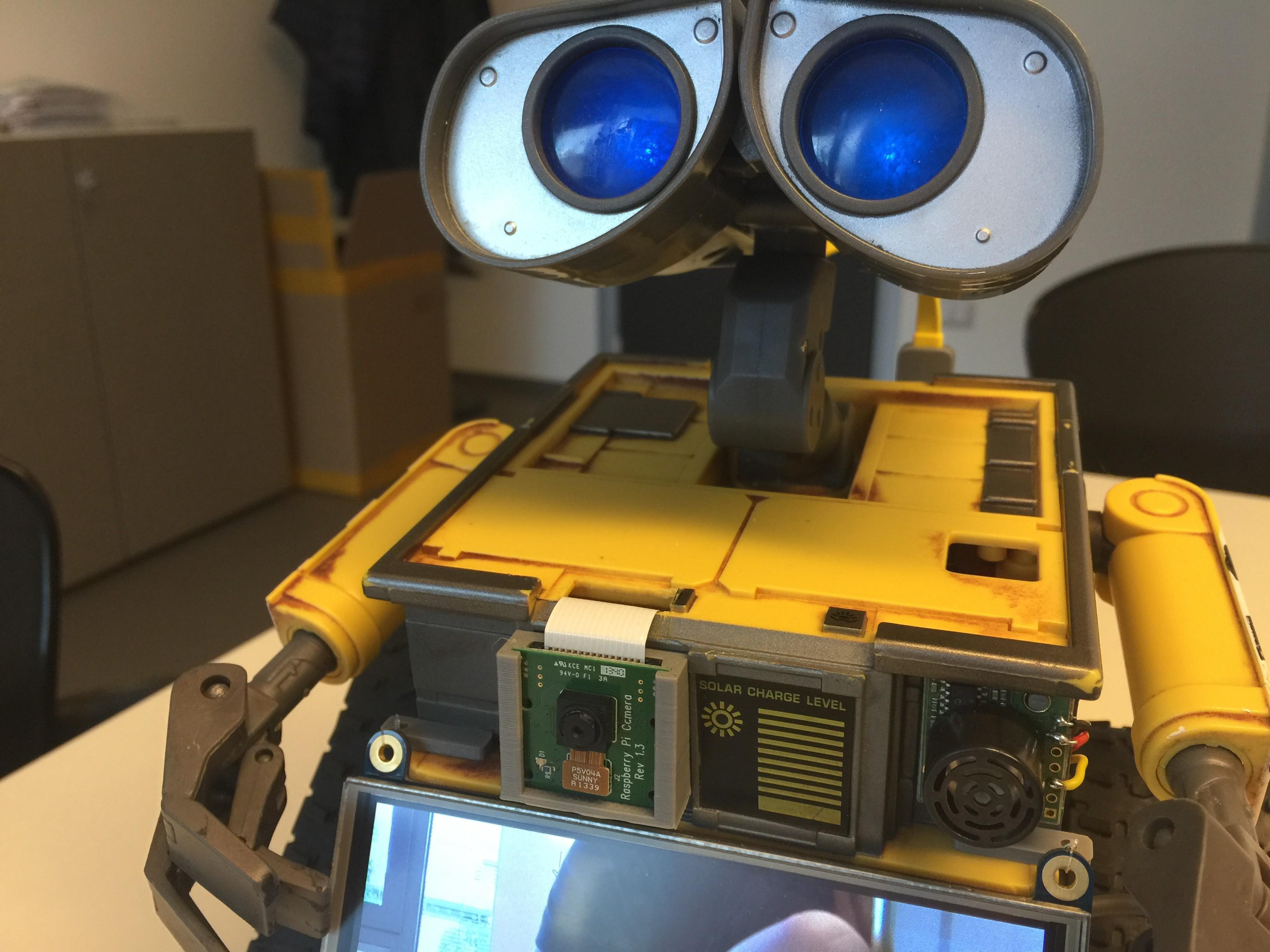 Terminator Wall-e Raspberry/OpenCM9 04/Dynamixel | Hackaday io