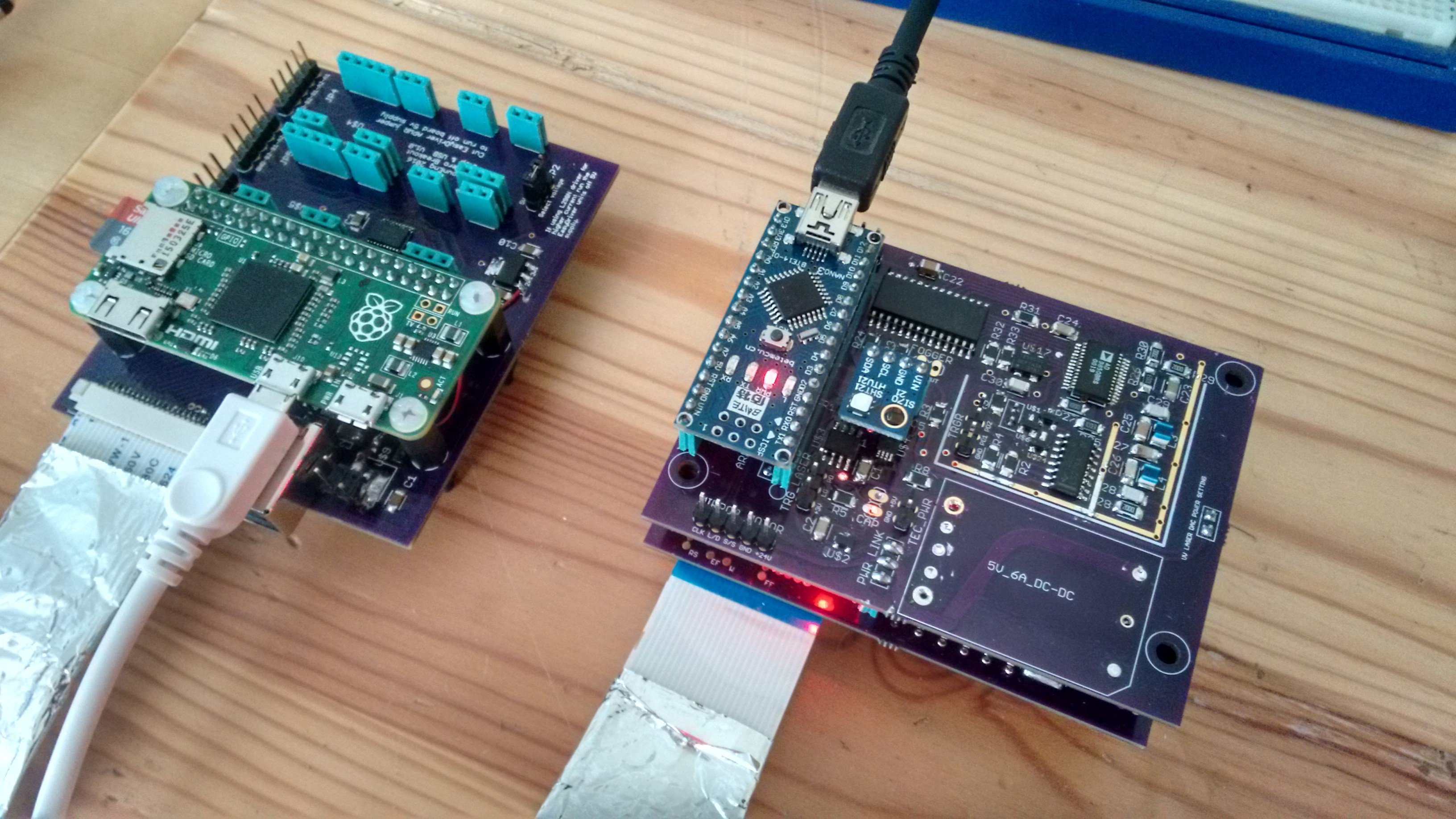 Print head boards build up details hackaday