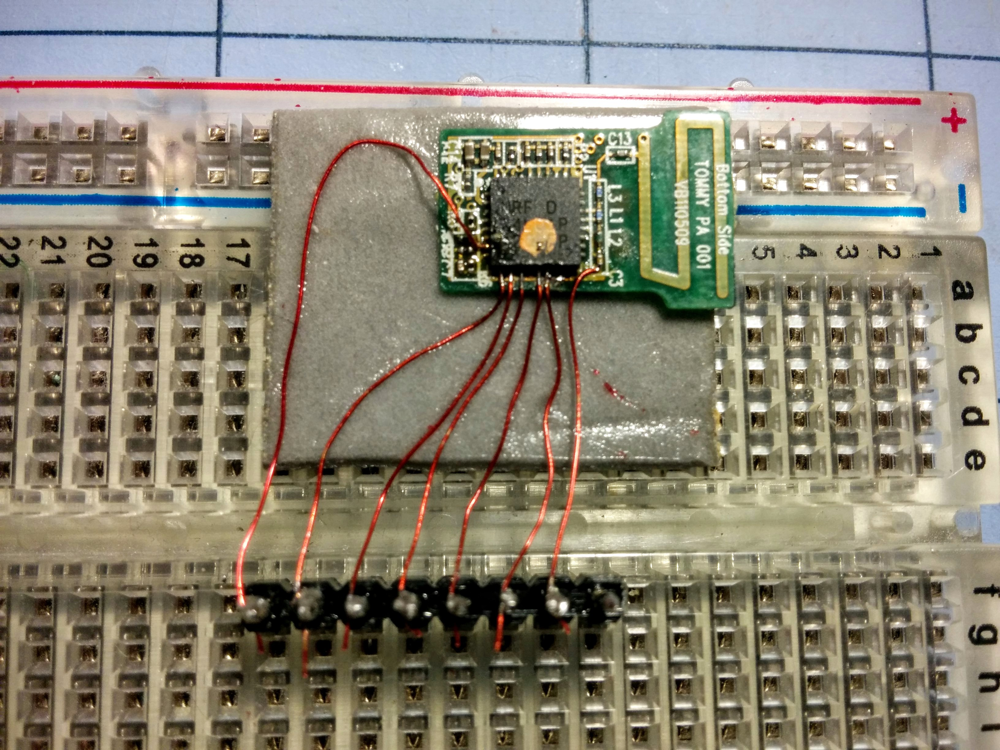 Crazyradio For Cheapskates Universal Serial Bus Circuit Which Detects On Wiring A Usb Mouse I Then Followed The Wiki To Wire Each Signal Pin Pirate