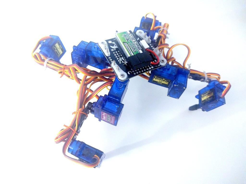 Tote, a quadruped robot - MicroPython Forum