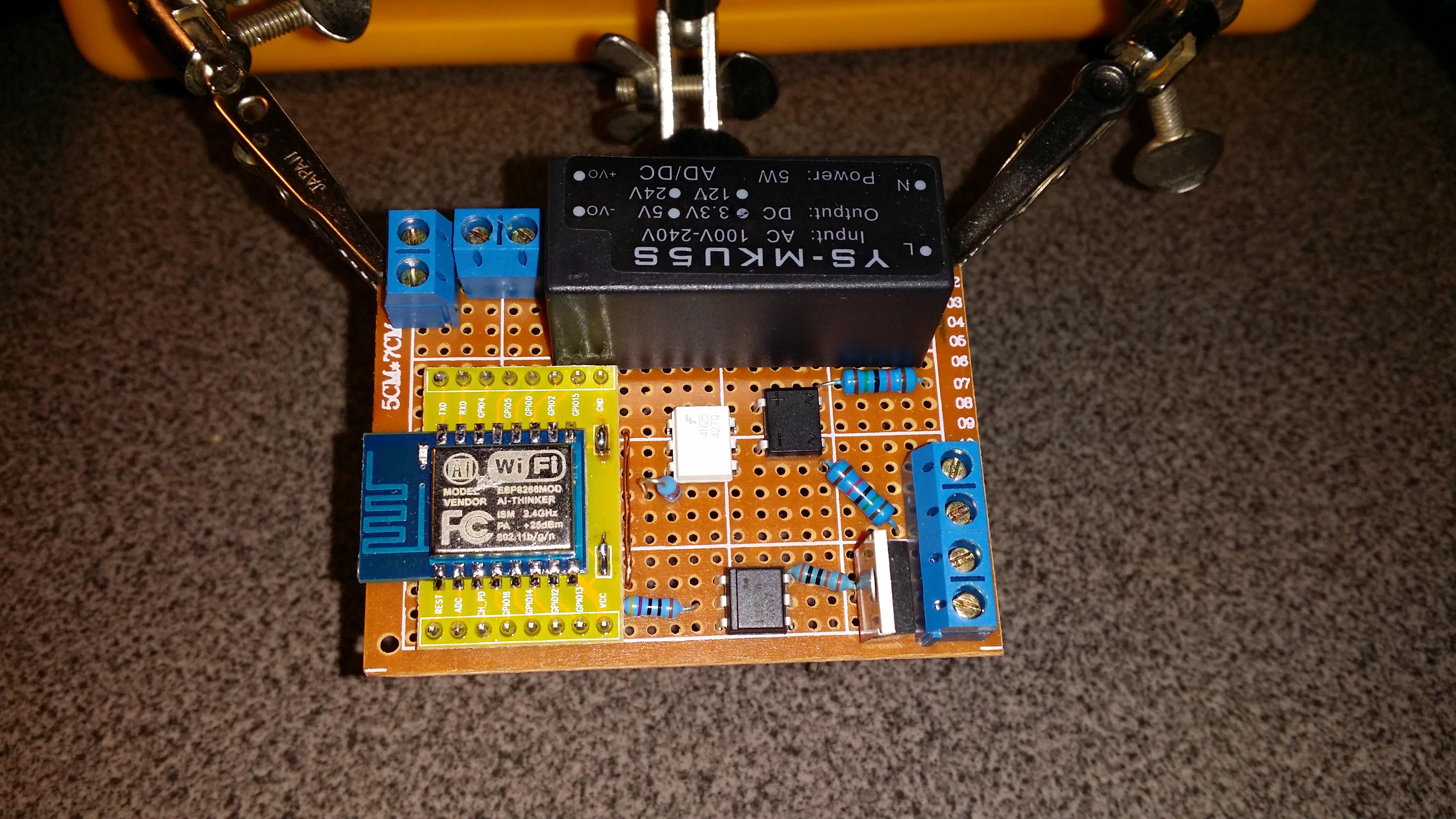 ESP8266 wifi light dimmer | Hackaday io