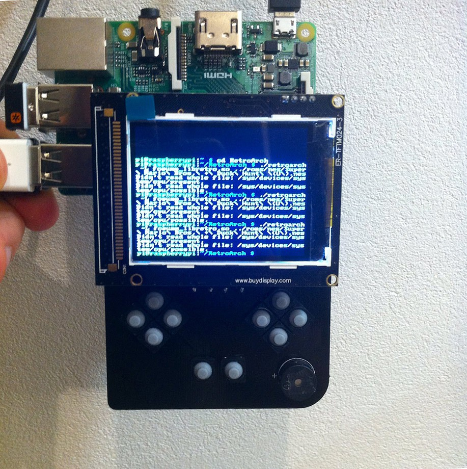 La GameGirl une console open-source avec Lakka/RetroArch   Open-Consoles