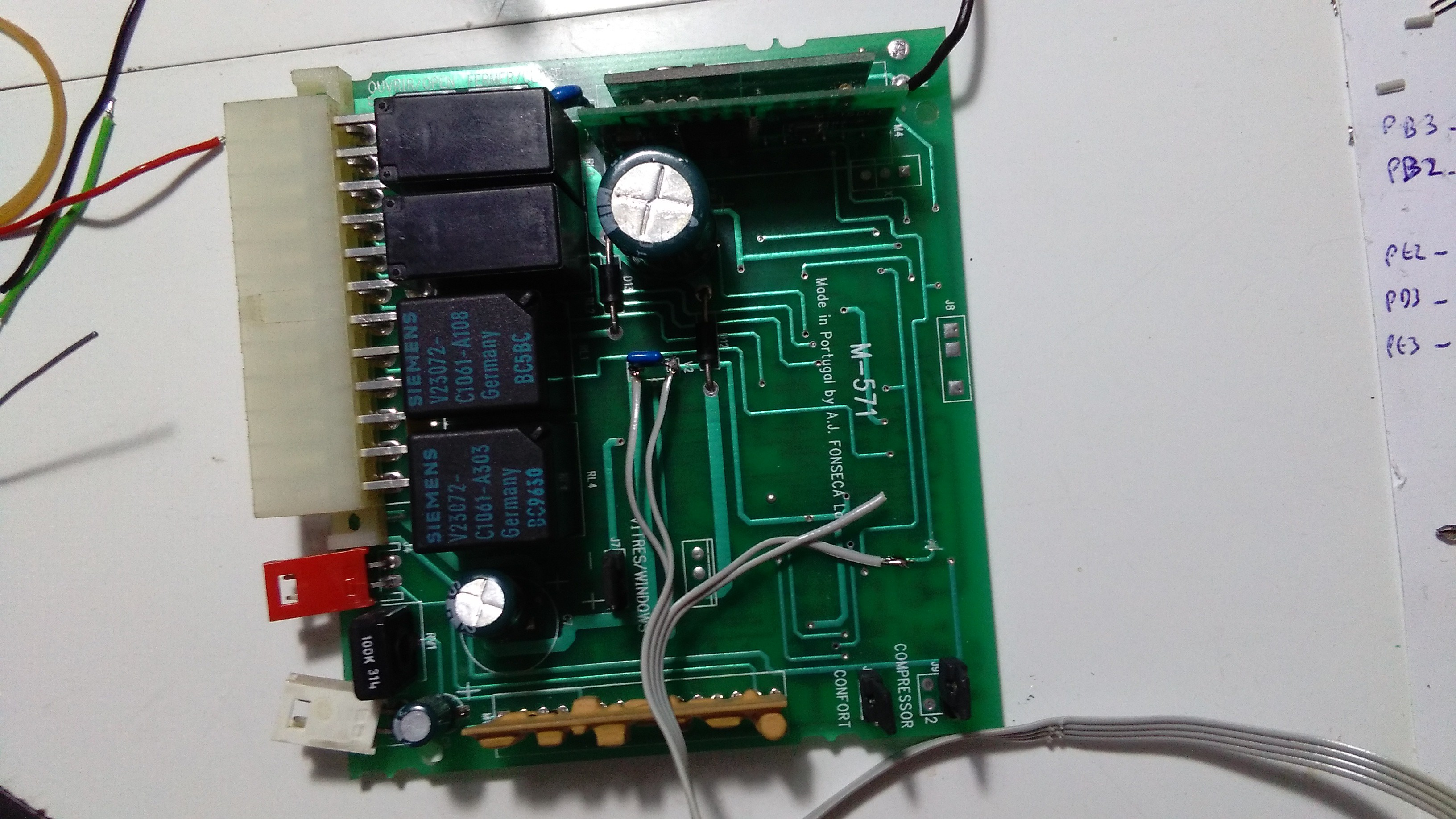 Car Alarm Secure Remote With Nrf24le1 Wiring Diagram 9 Pin After This I Assembled It On The And Voila Works