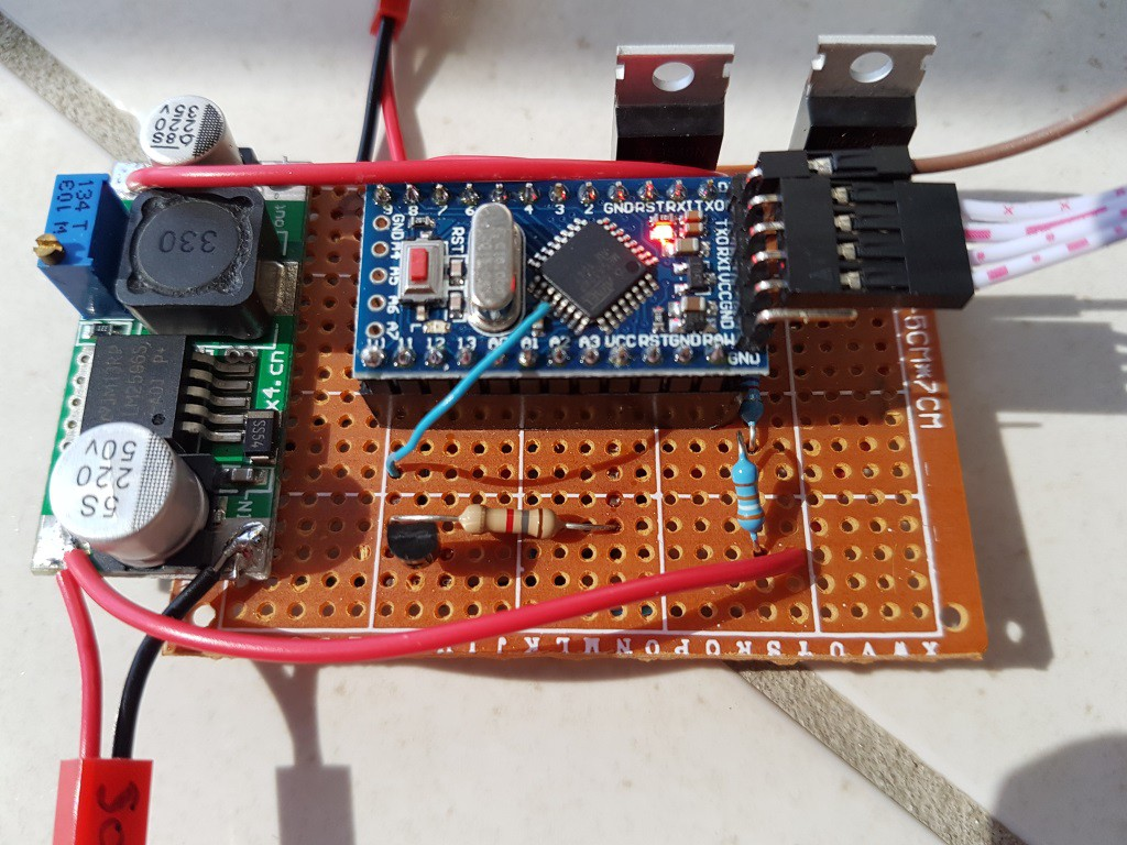 Minimal Arduino Lead Acid Solar Charger Hackaday Io