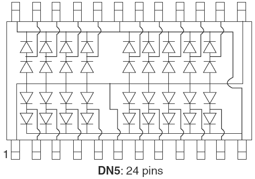 DN5 diode network