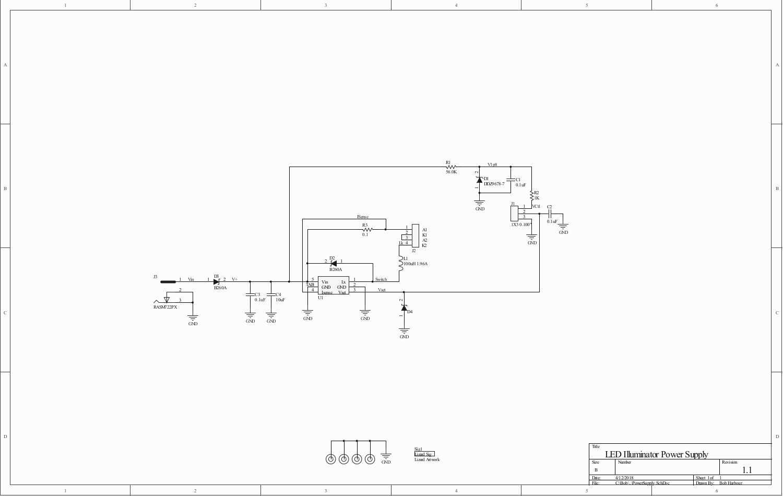 Led Microscope Illuminator White Driver Circuit Diagram Hi Watt Rev 1 Schematic