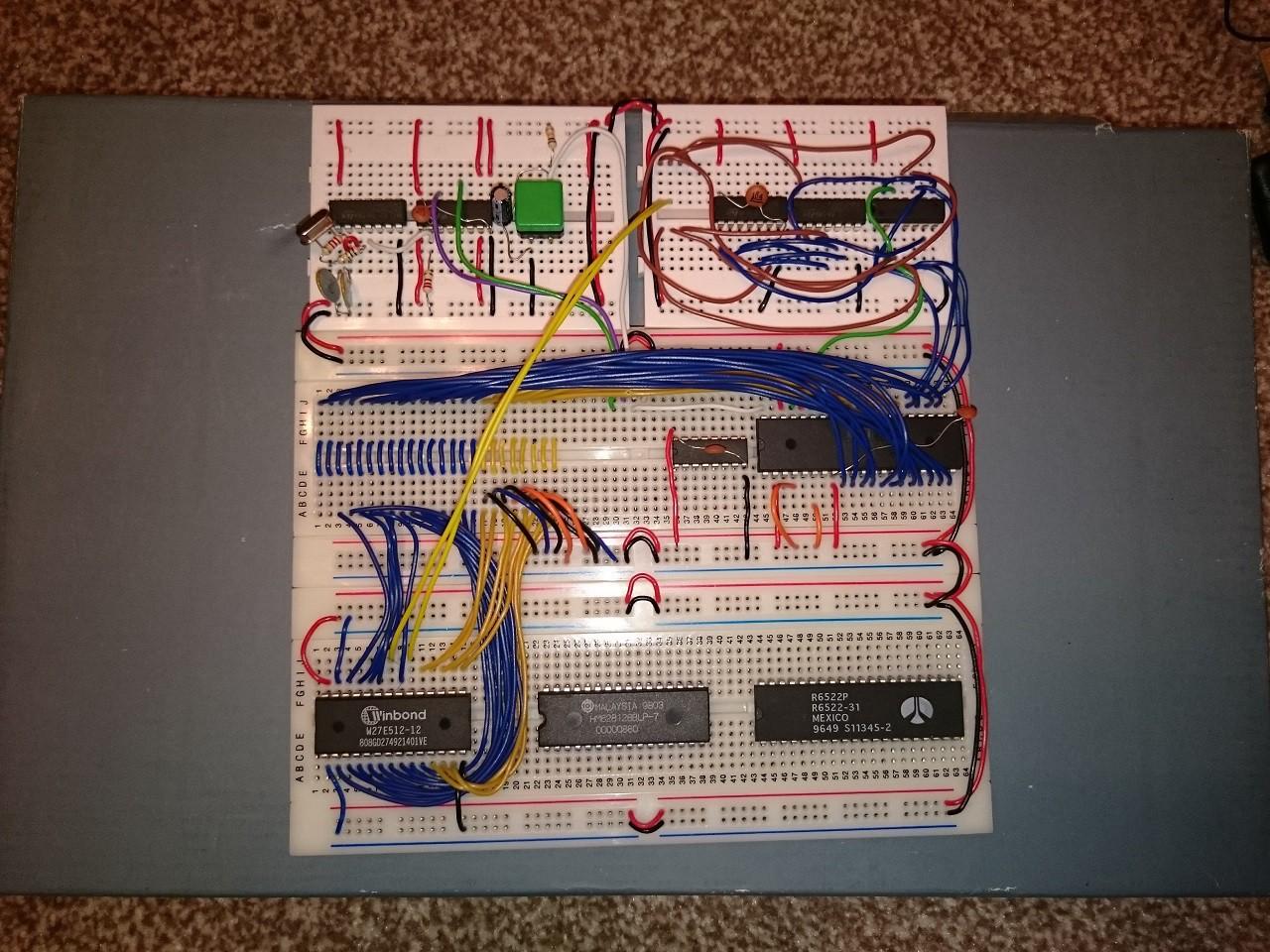 Project | 6502 Homebrew Computer | Hackaday io