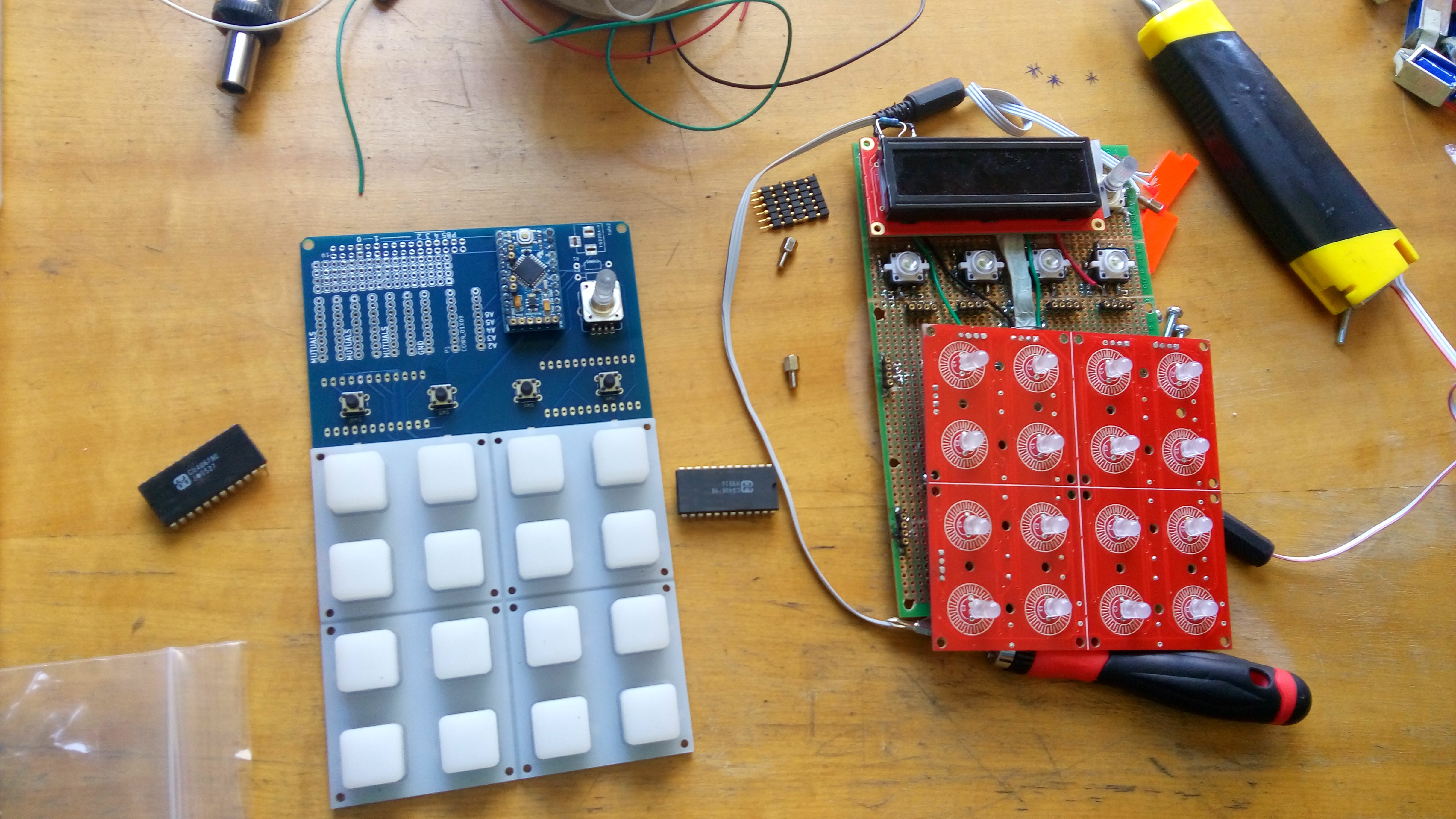A Modular Sequencer For Electronic Music Circuit Bending Making By Rewiring Devices And Toys I Added Midi Input Output Plus The Respective Jack Connectors Ran Into Problem That Korg Have Different Pin Map