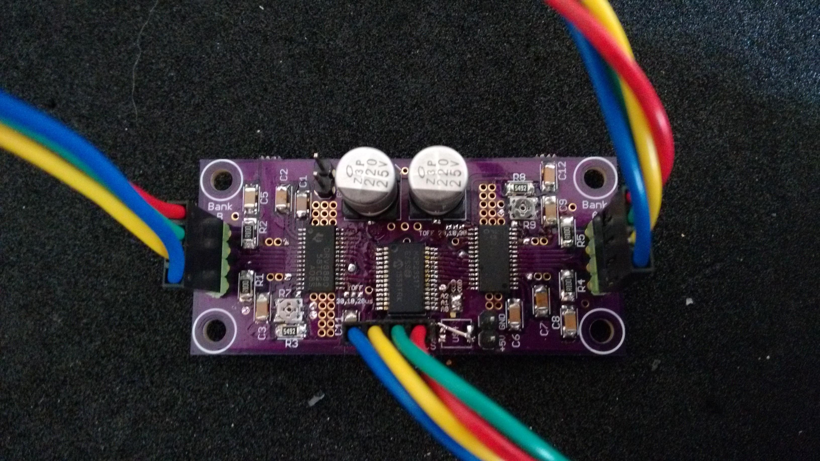 Dual Stepper controller | Hackaday io