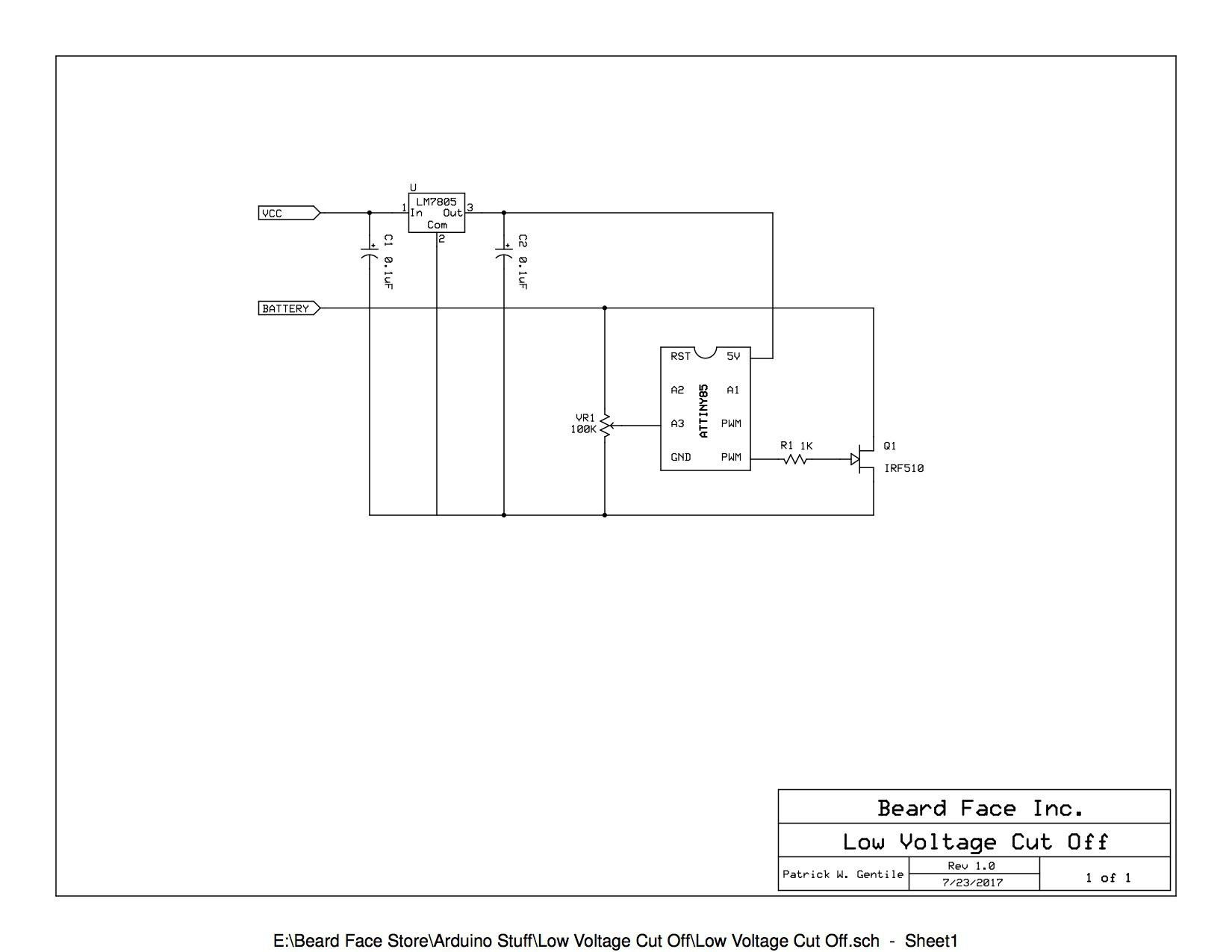 Gallery | Low Voltage Cut Off | Hackaday io