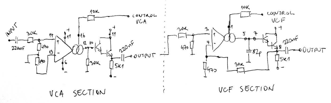 on vco schematic block diagram