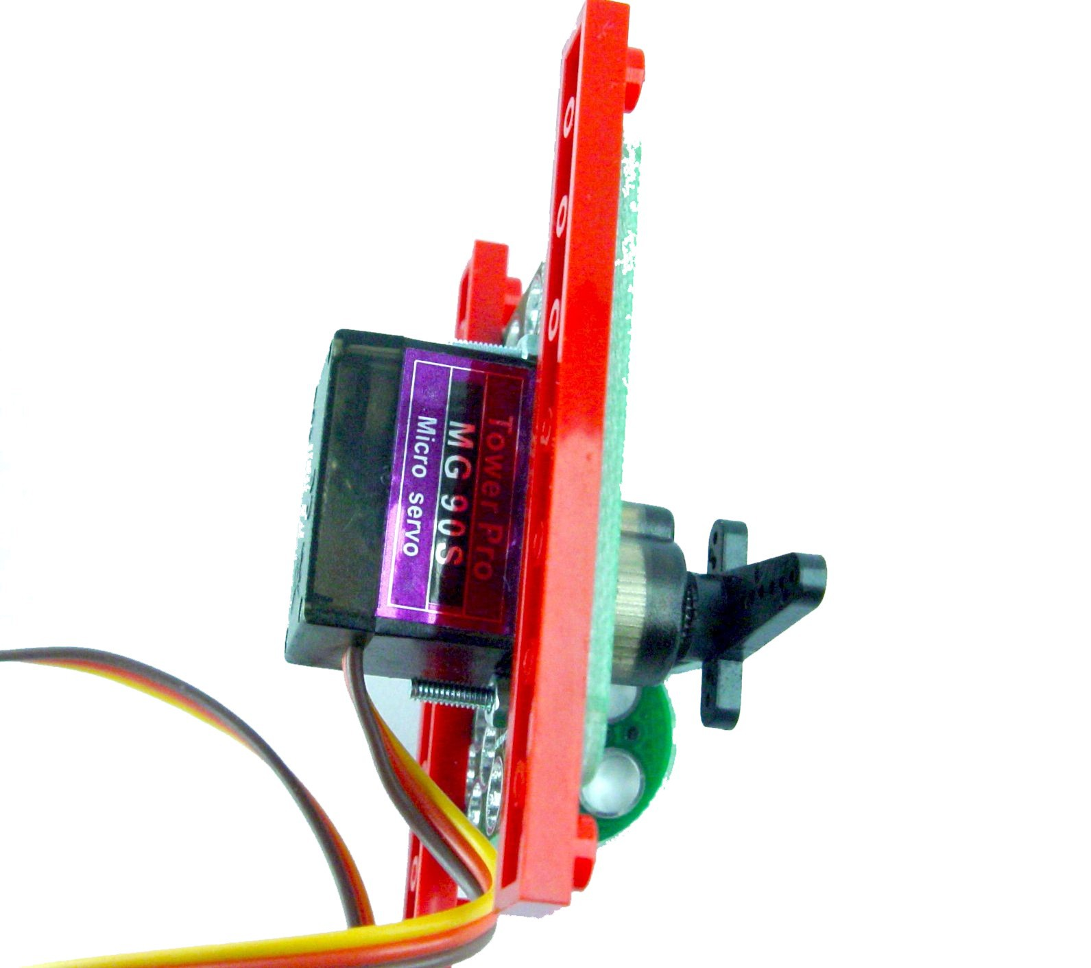 Gallery | LEGO adapter for MG90S servo | Hackaday io