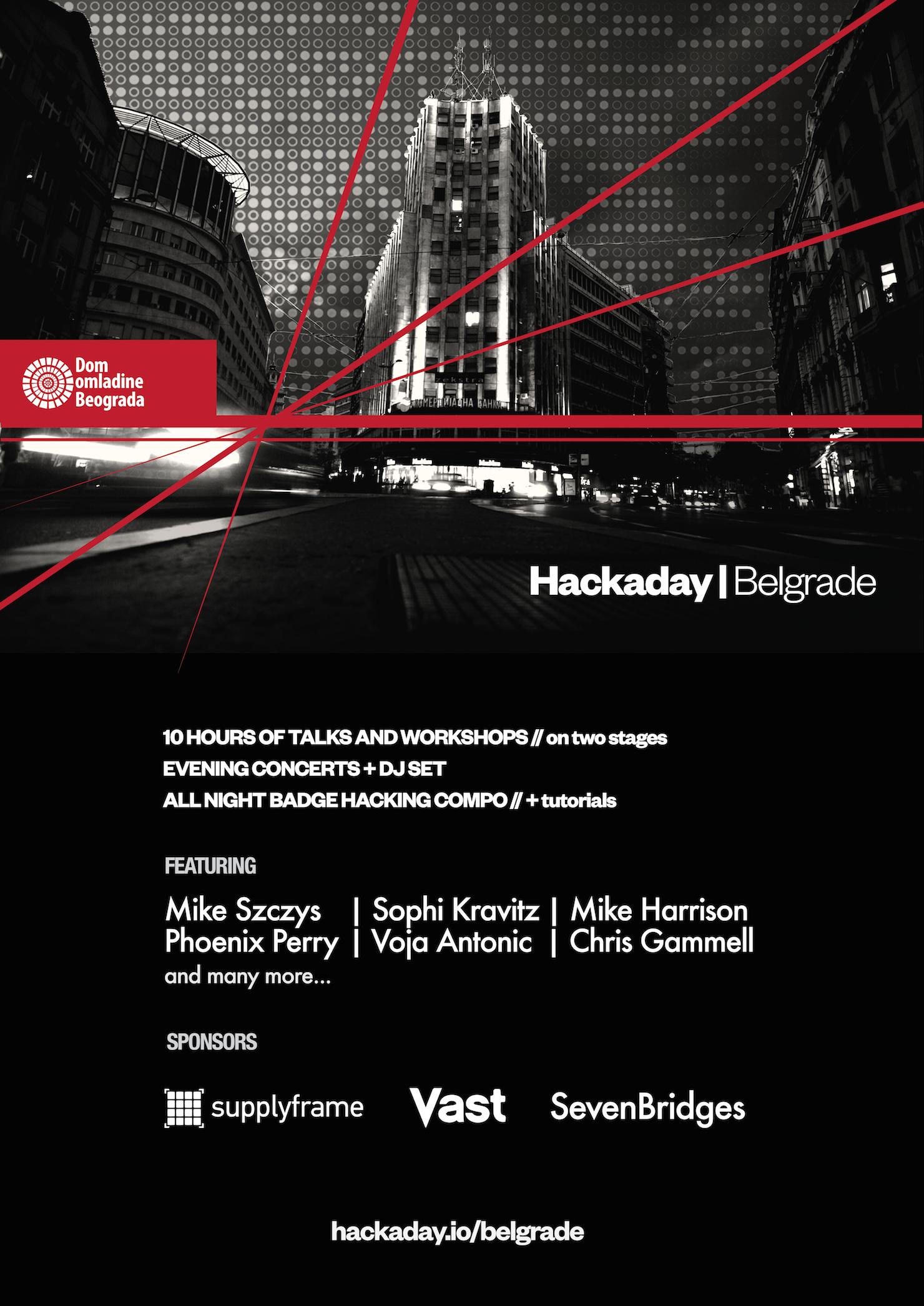 Hackaday   Belgrade Poster