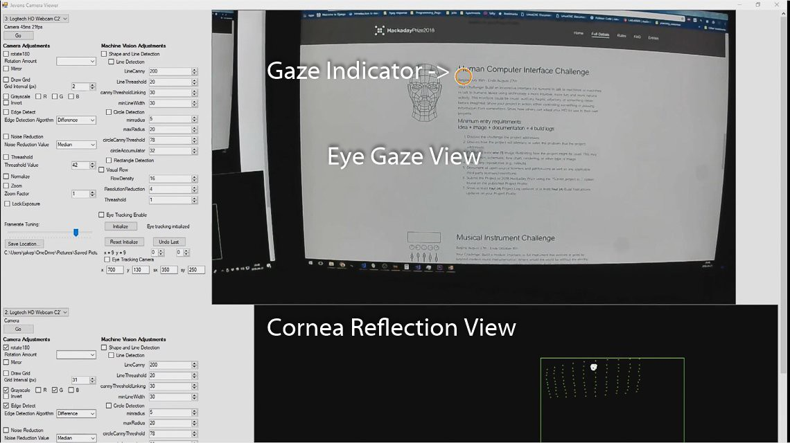 Gallery | Low Cost Open Source Eye Tracking | Hackaday io