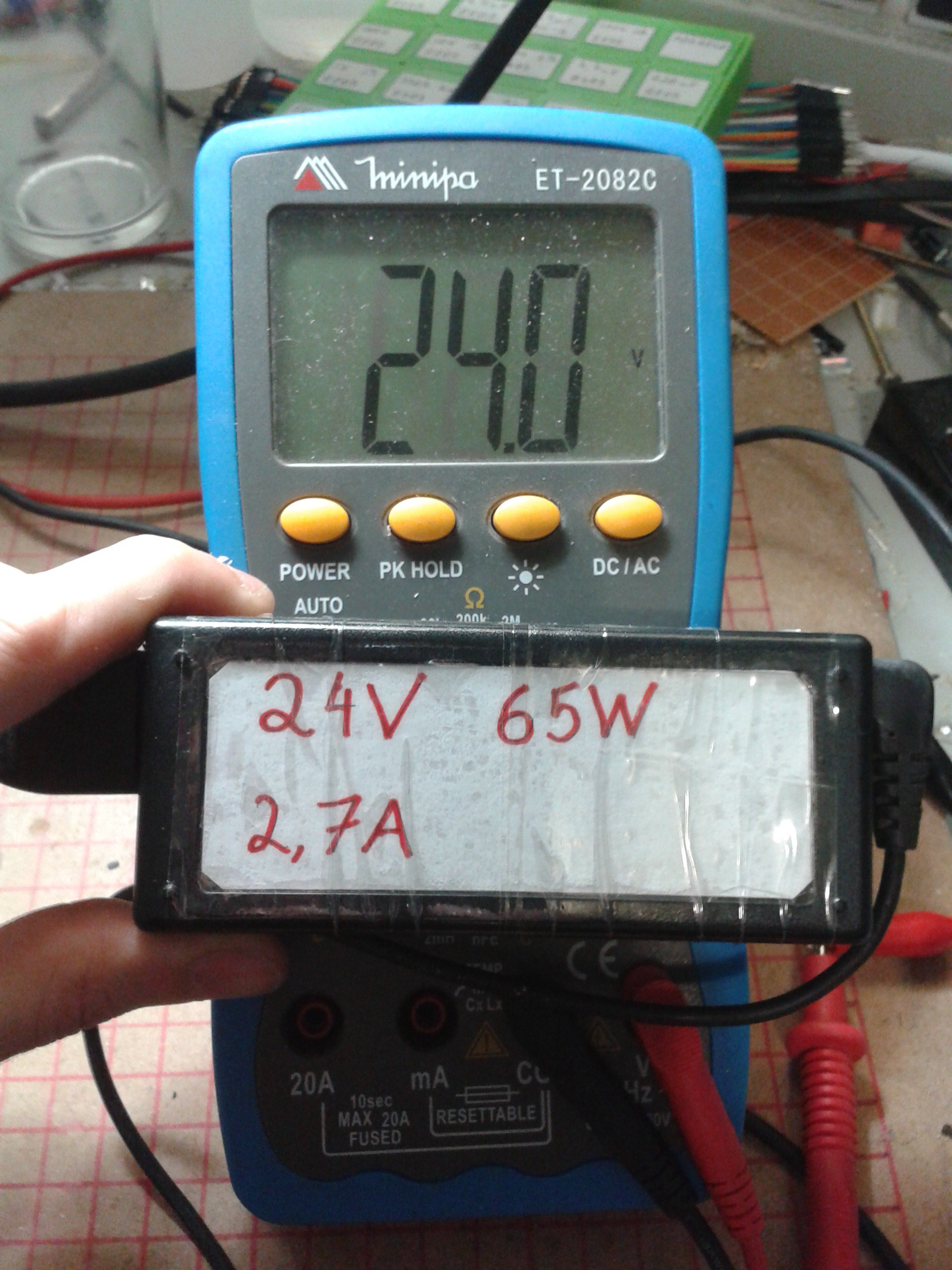 Modifying A Notebook Power Supply Use The Variable And Resistor To Vary Its Done Now Your Outputs Desired Voltage