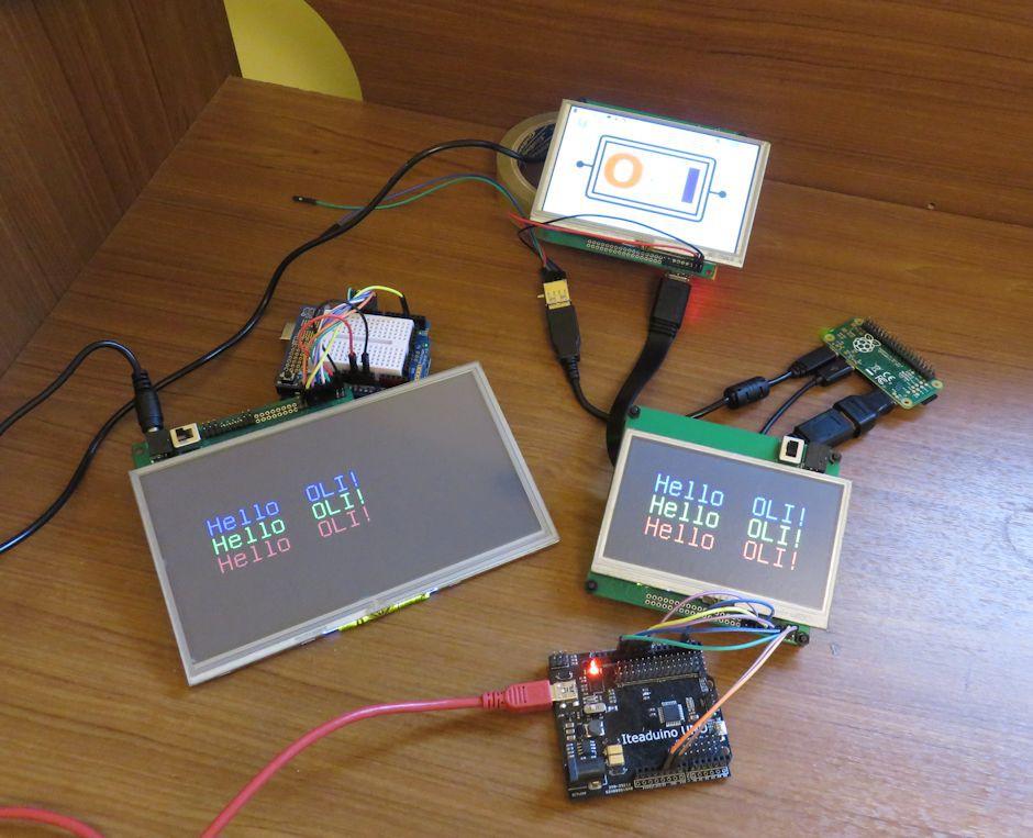 OLI (Open LCD Interface)   Hackaday io
