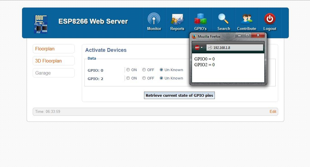 ESP 8266 Web Server | Hackaday io