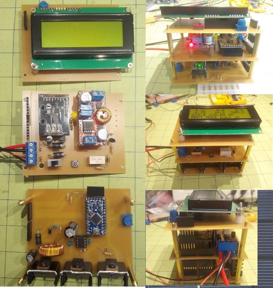 Project Solar Charge Controller Mppt Test Facility Boost Converter With Diy Works
