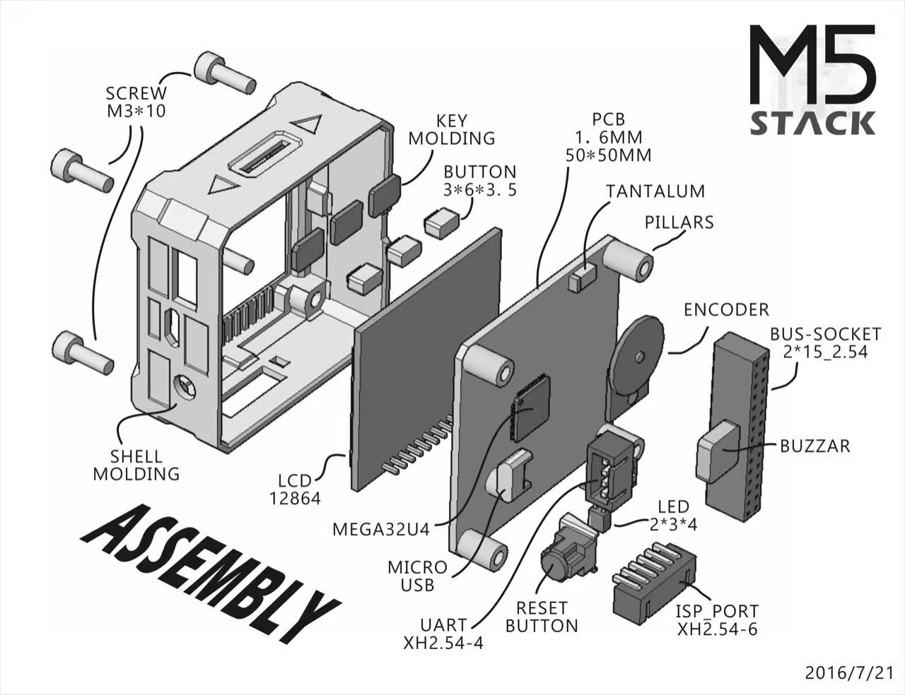 M5Stack - An Open Source Enclosed Modular Toolkit | Hackaday io