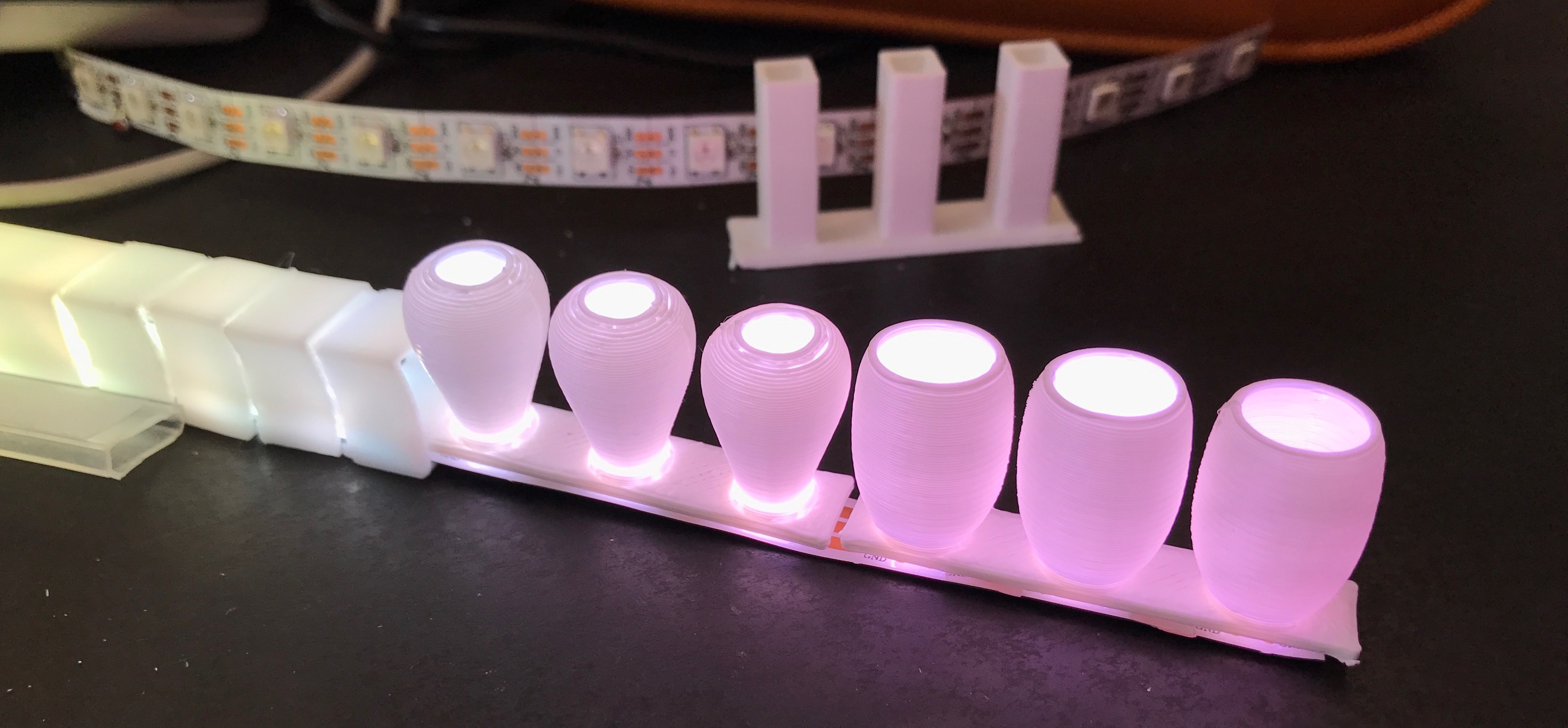 LED diffusion experiments, some results | Details | Hackaday io