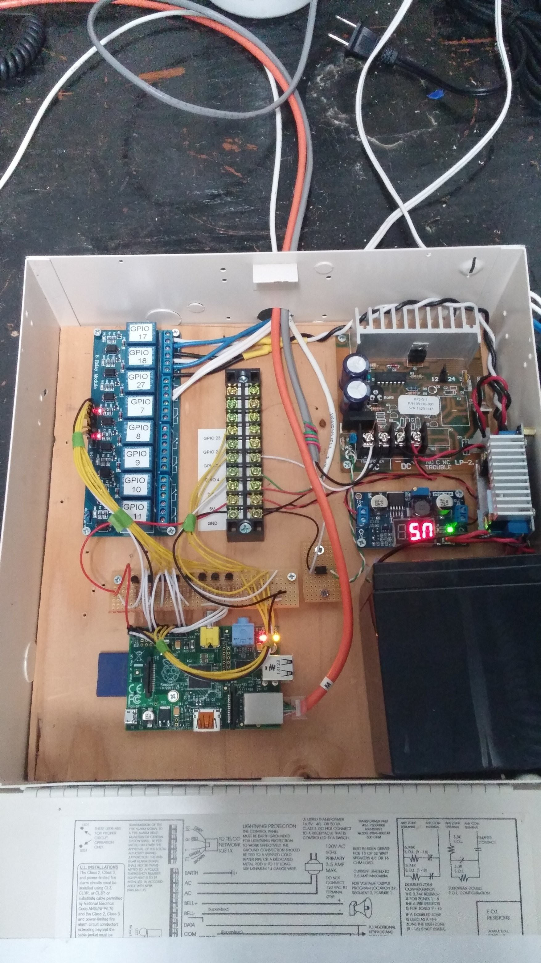 The Automagical Chicken Coop Electronic Bell Circuit New Power Supply Thursday