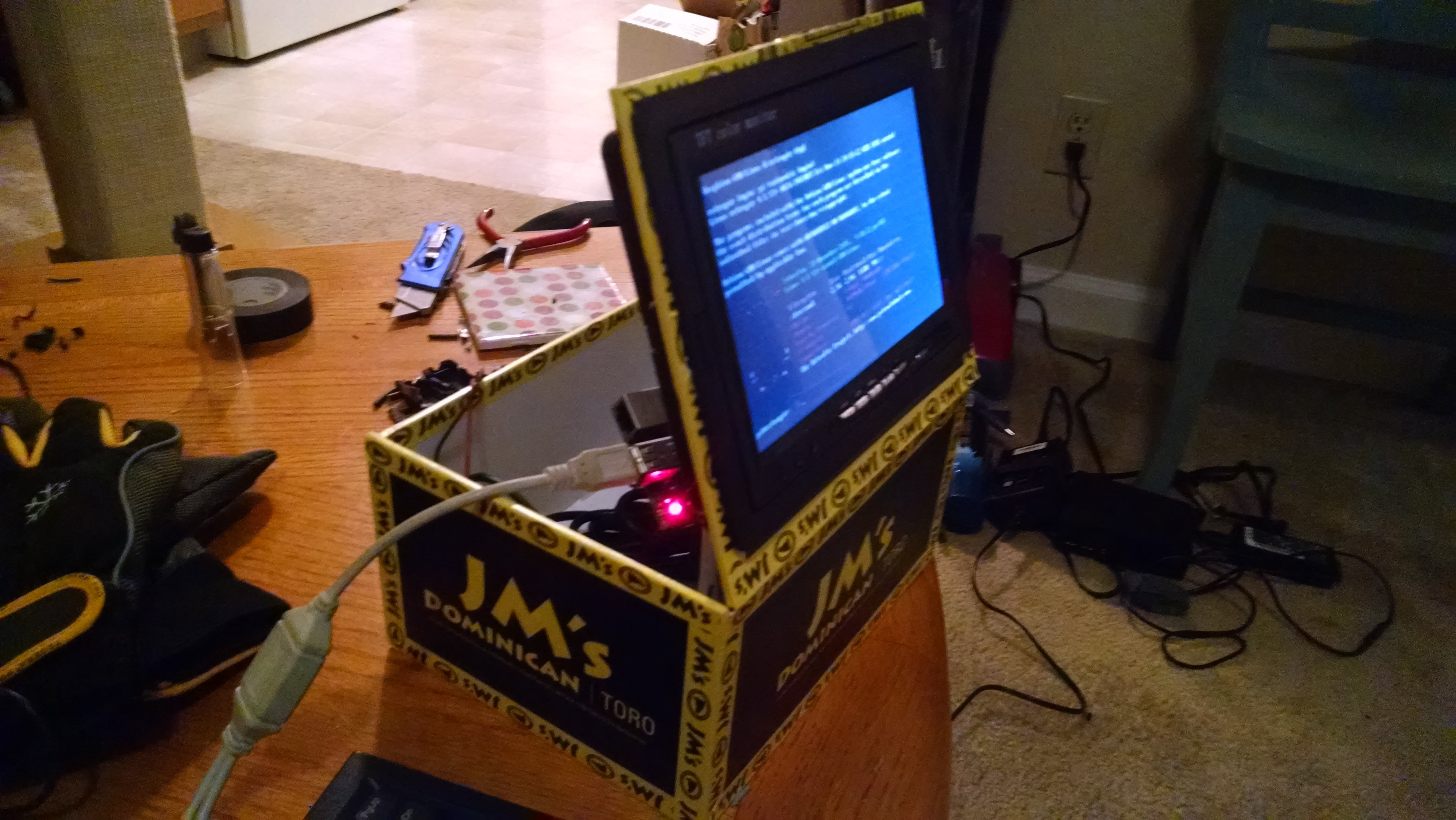 Gallery | Another Raspberry Pi Arcade | Hackaday io