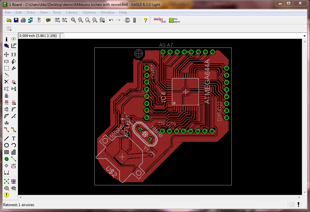 Render 3DPCB using Eagle3D and POV-Ray | Hackaday io