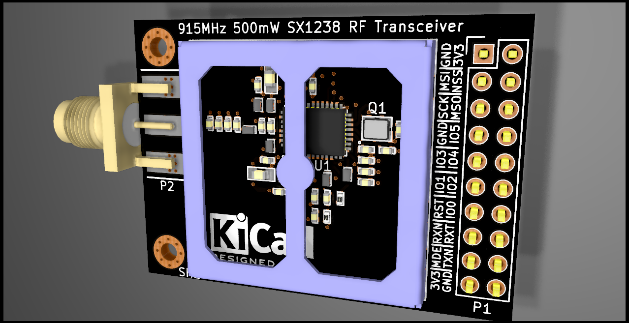 Gallery 500mw 27db Ism Band Transceiver 915mhz Module View Full Size