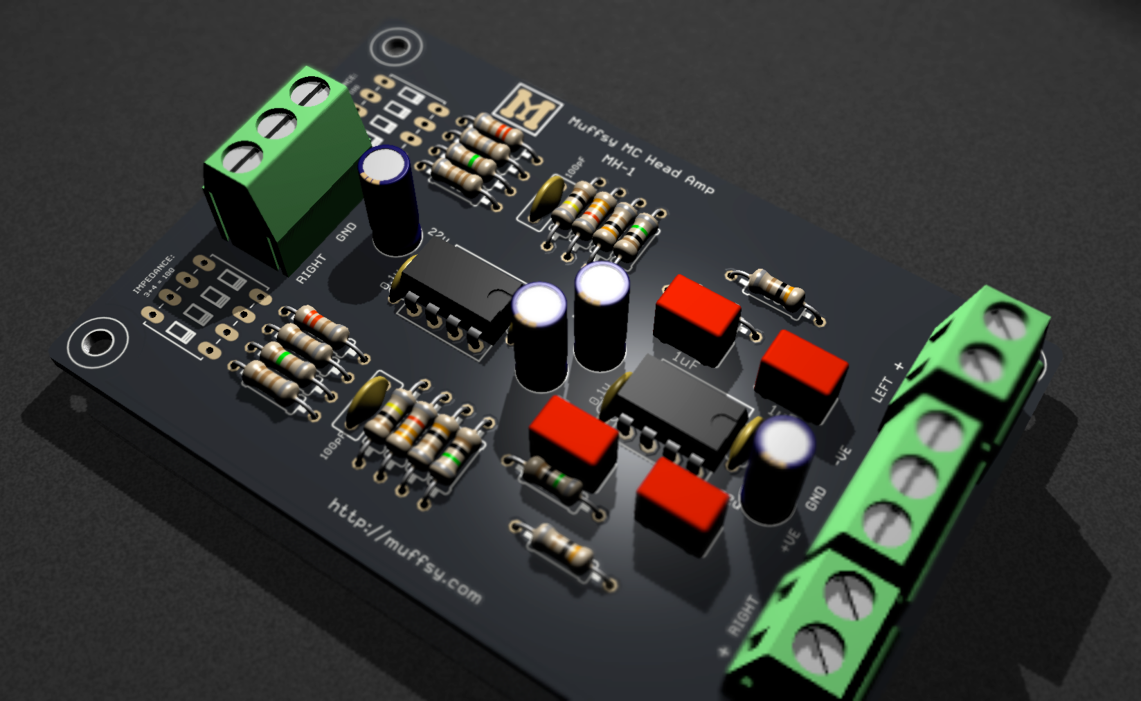 Project | Muffsy MC Head Amp | Hackaday.io