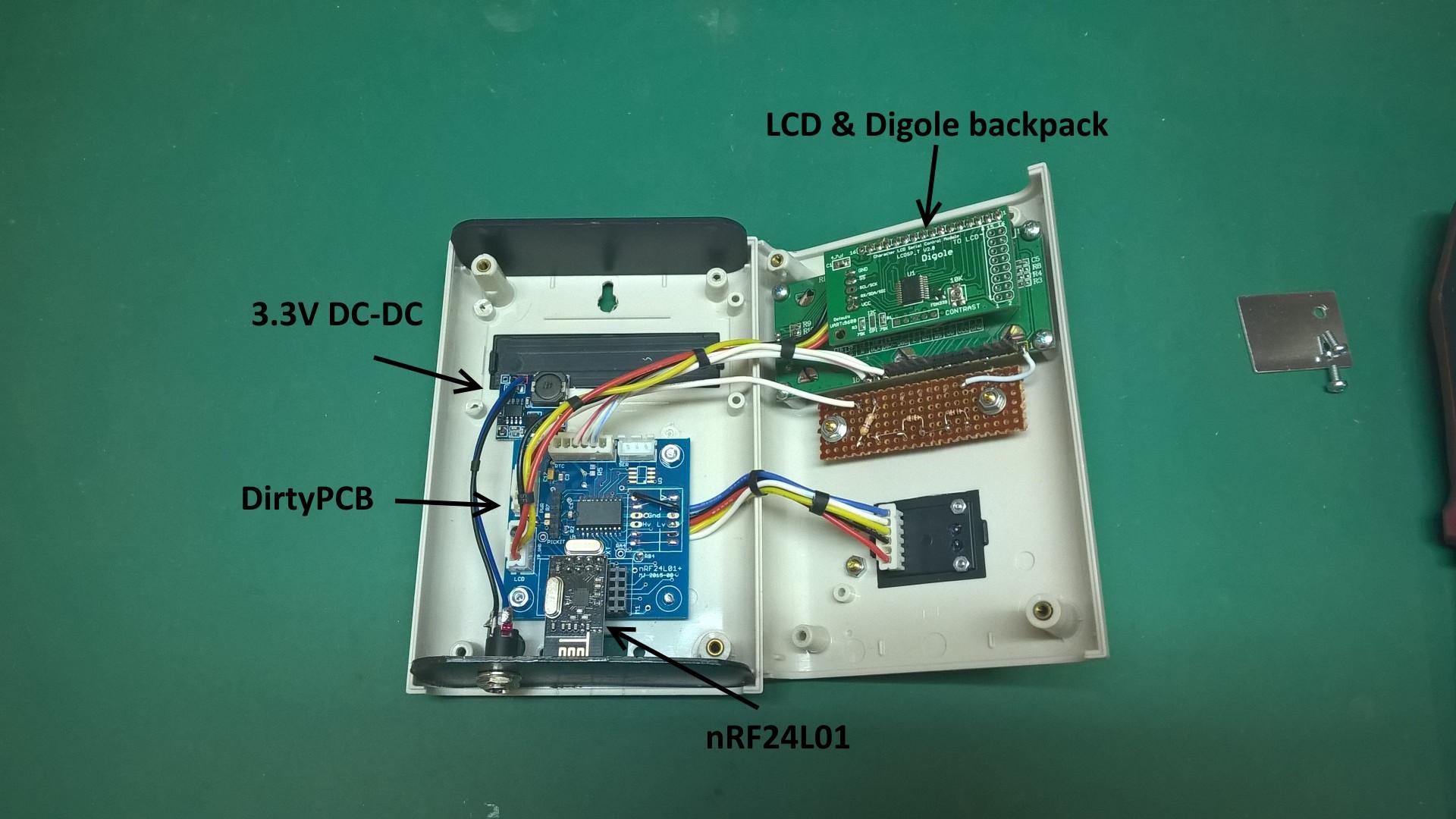 wireless wood stove monitor hackaday io