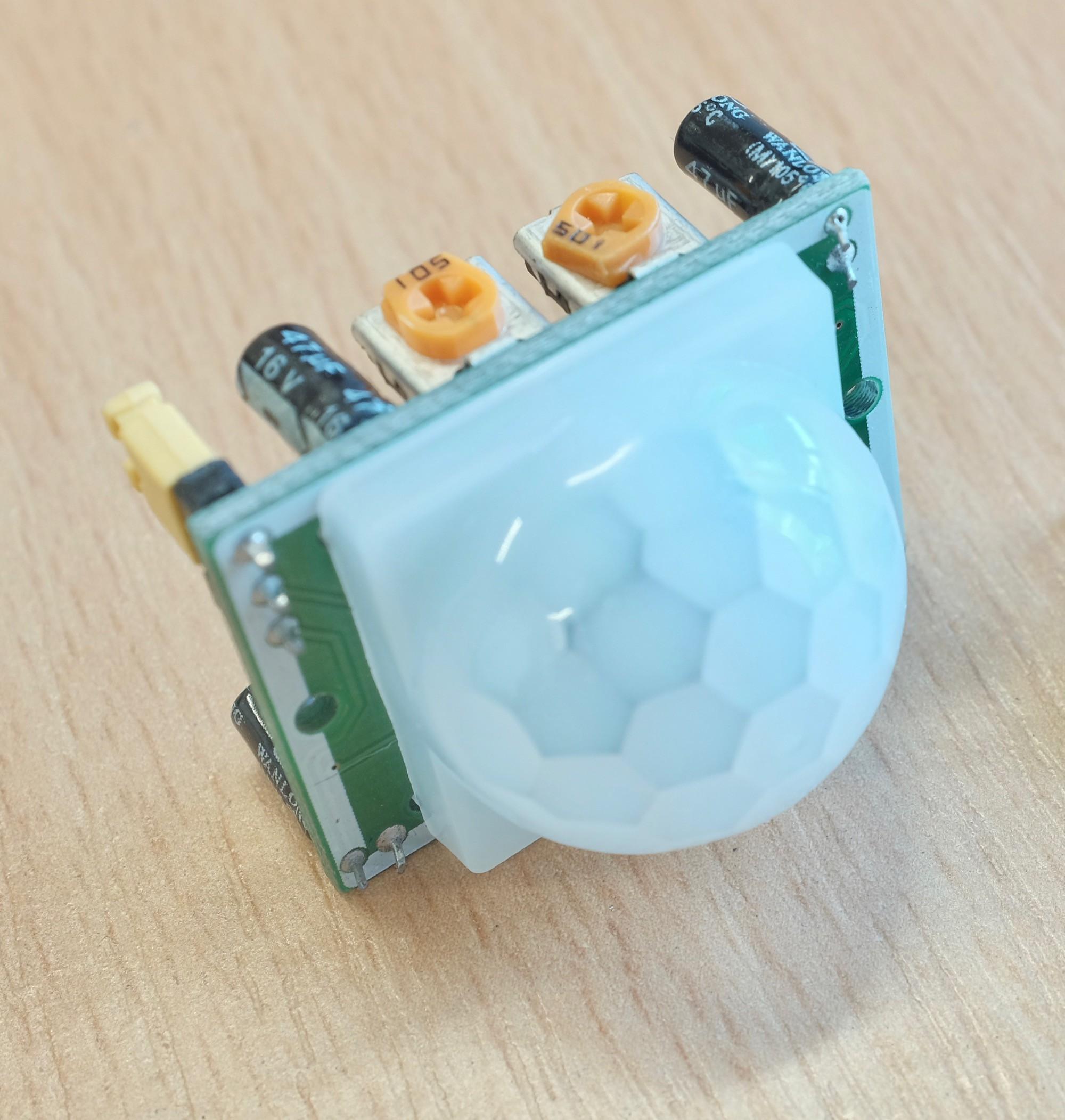 Project Log 2: Motion-Sensor Face-off | Details | Hackaday io
