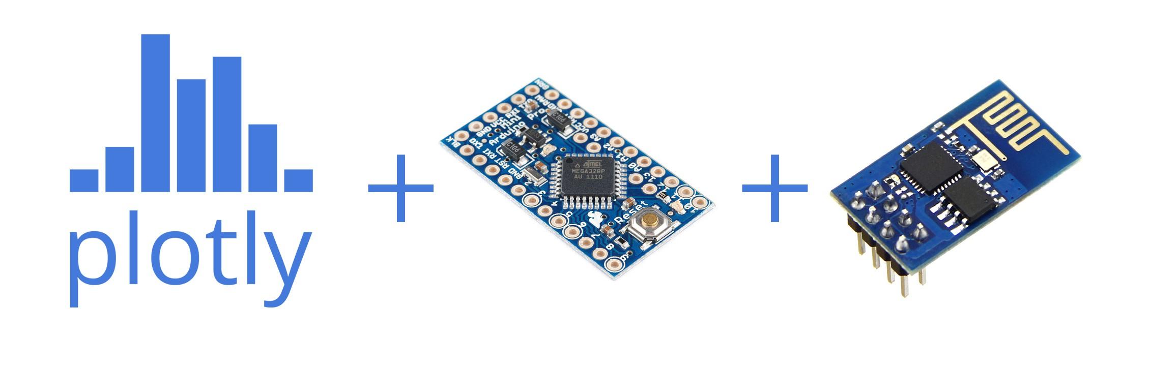 plotly + Arduino + ESP8266 | Hackaday io