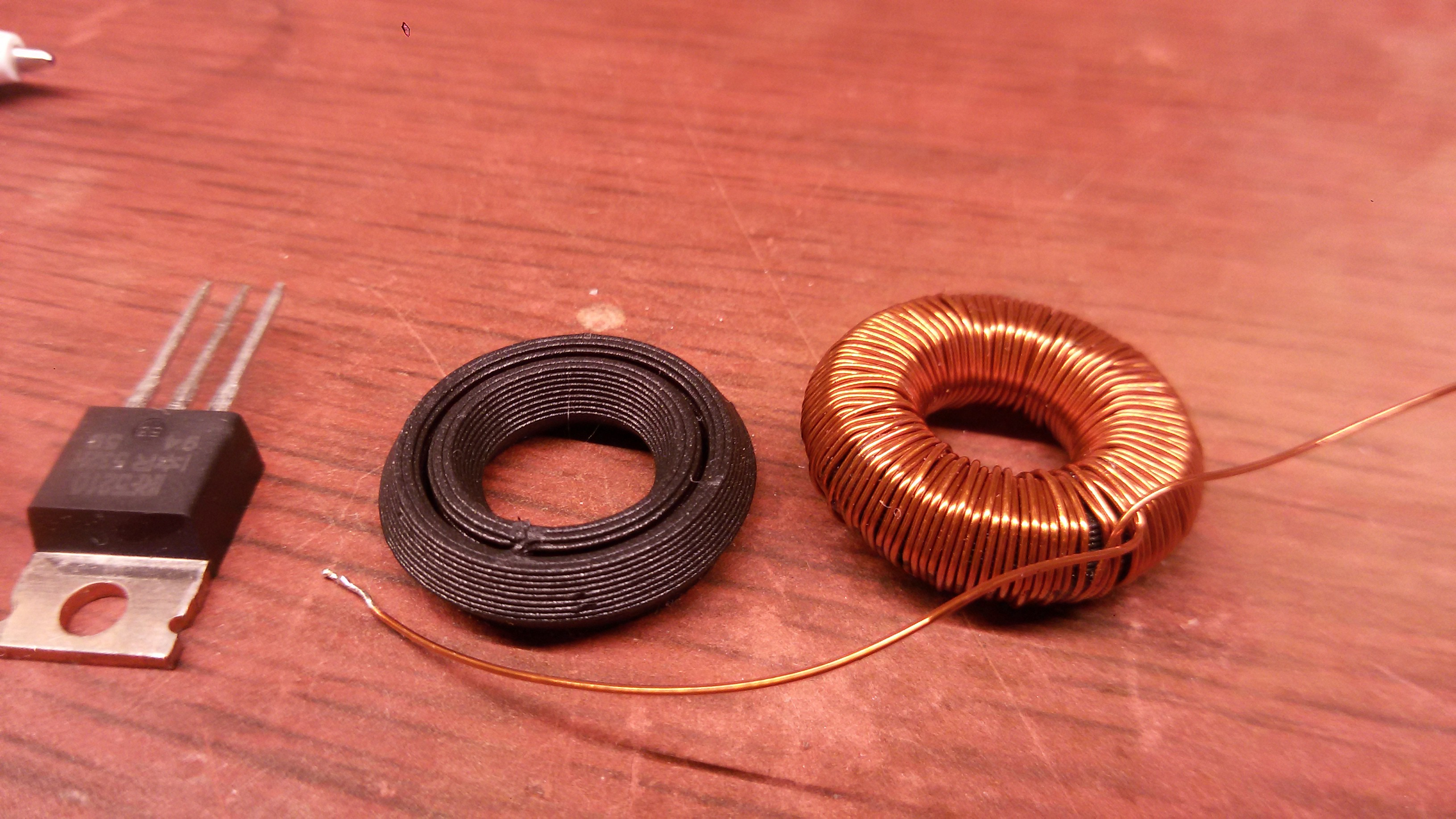 Measuring Blackmagic3ds Ferromagnetic Filament Coils Of Copper Wire Are Commonly Used In Electrical Inductors The Coil Has N 124 Turns It Measures 0527 Ohms Dc Resistance And An Inductance 21 Uh